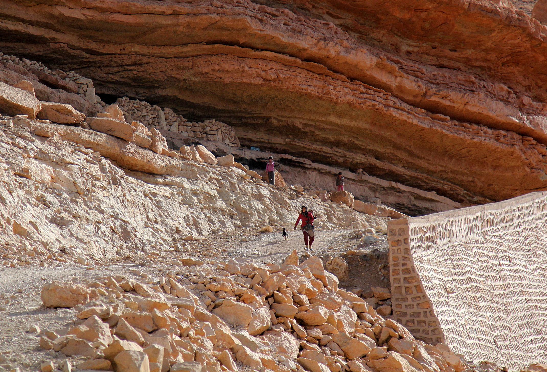 Maroko.Wąwóz Todra