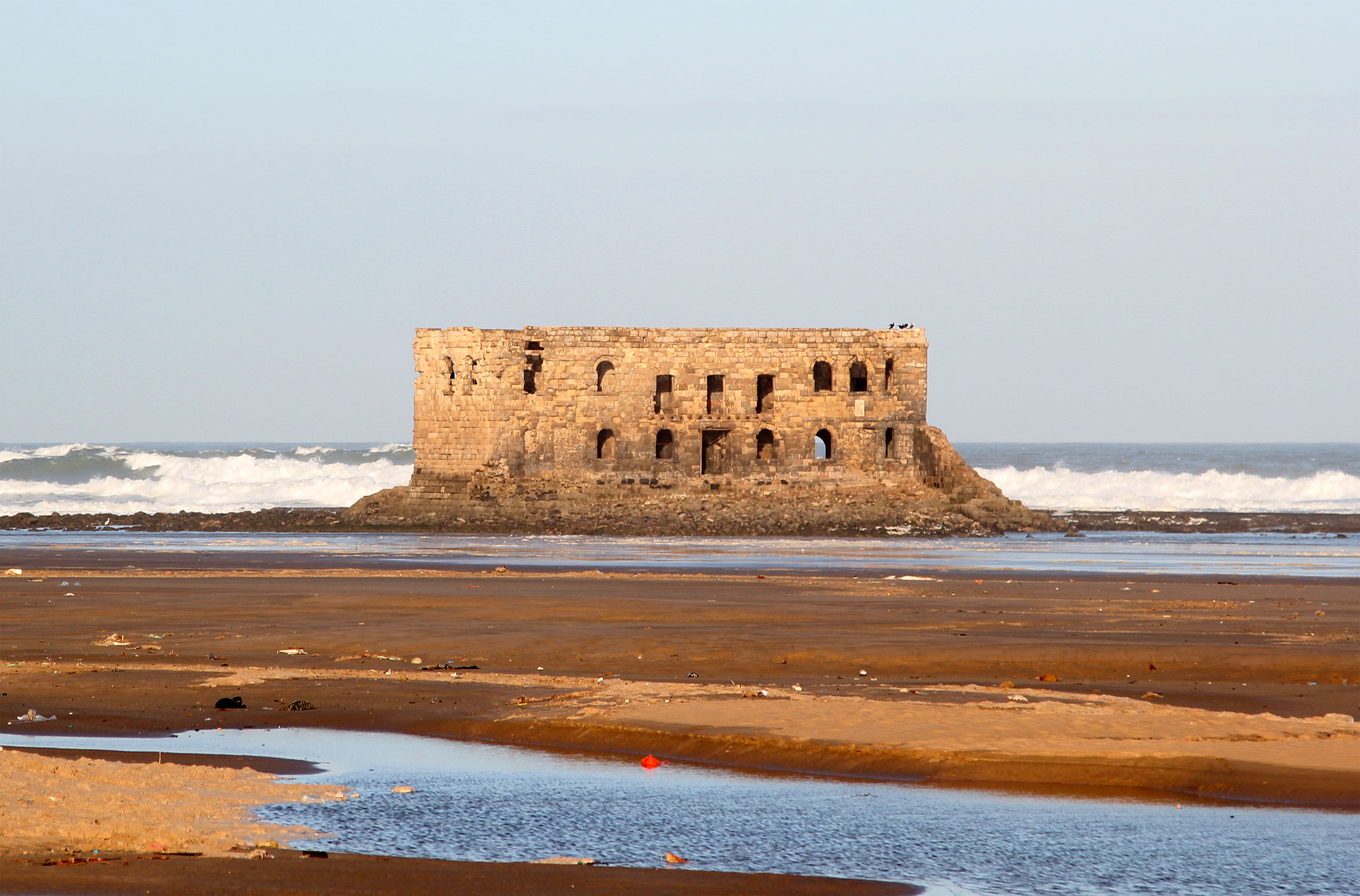 Maroko.Tarfaya.Stary Fort