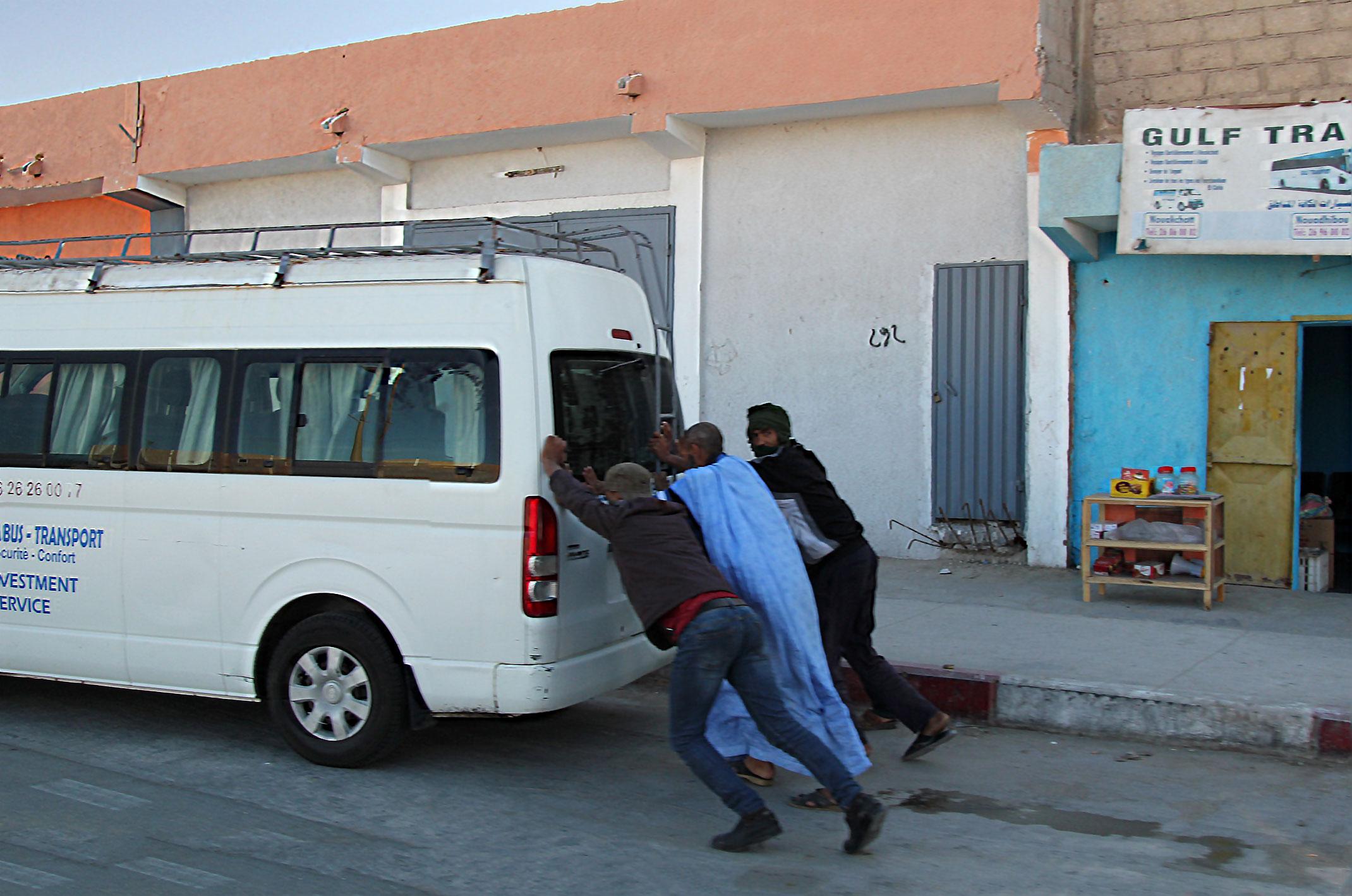 Mauretania.Uslugi transportowe.
