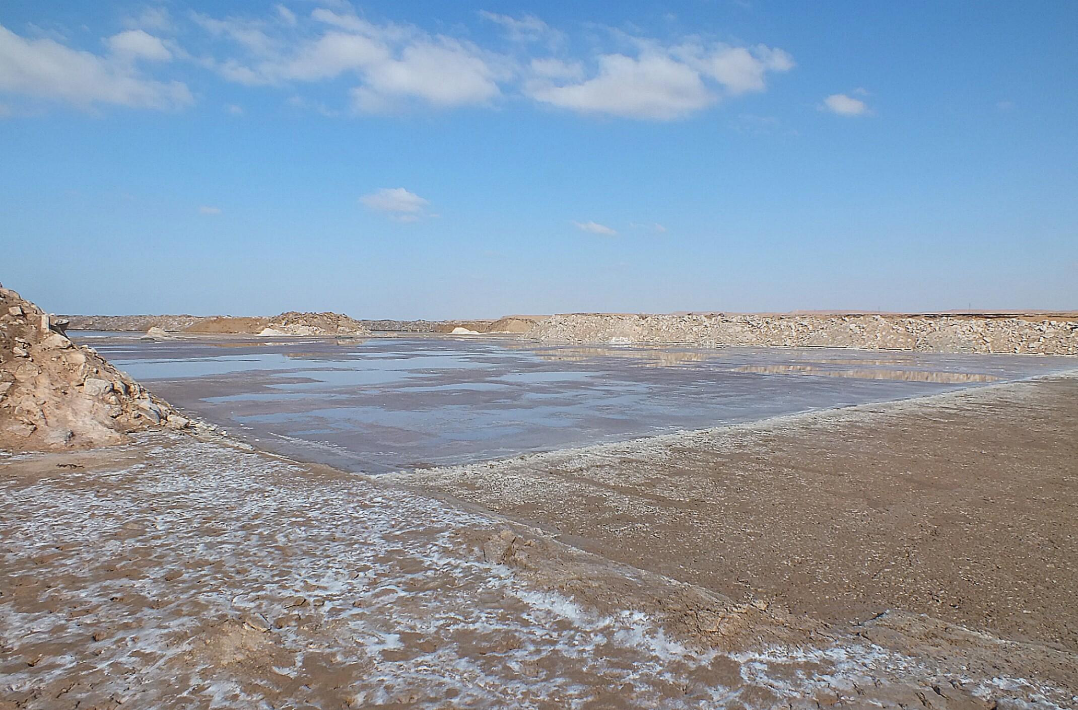 Maroko.Solnisko.Sól morska.