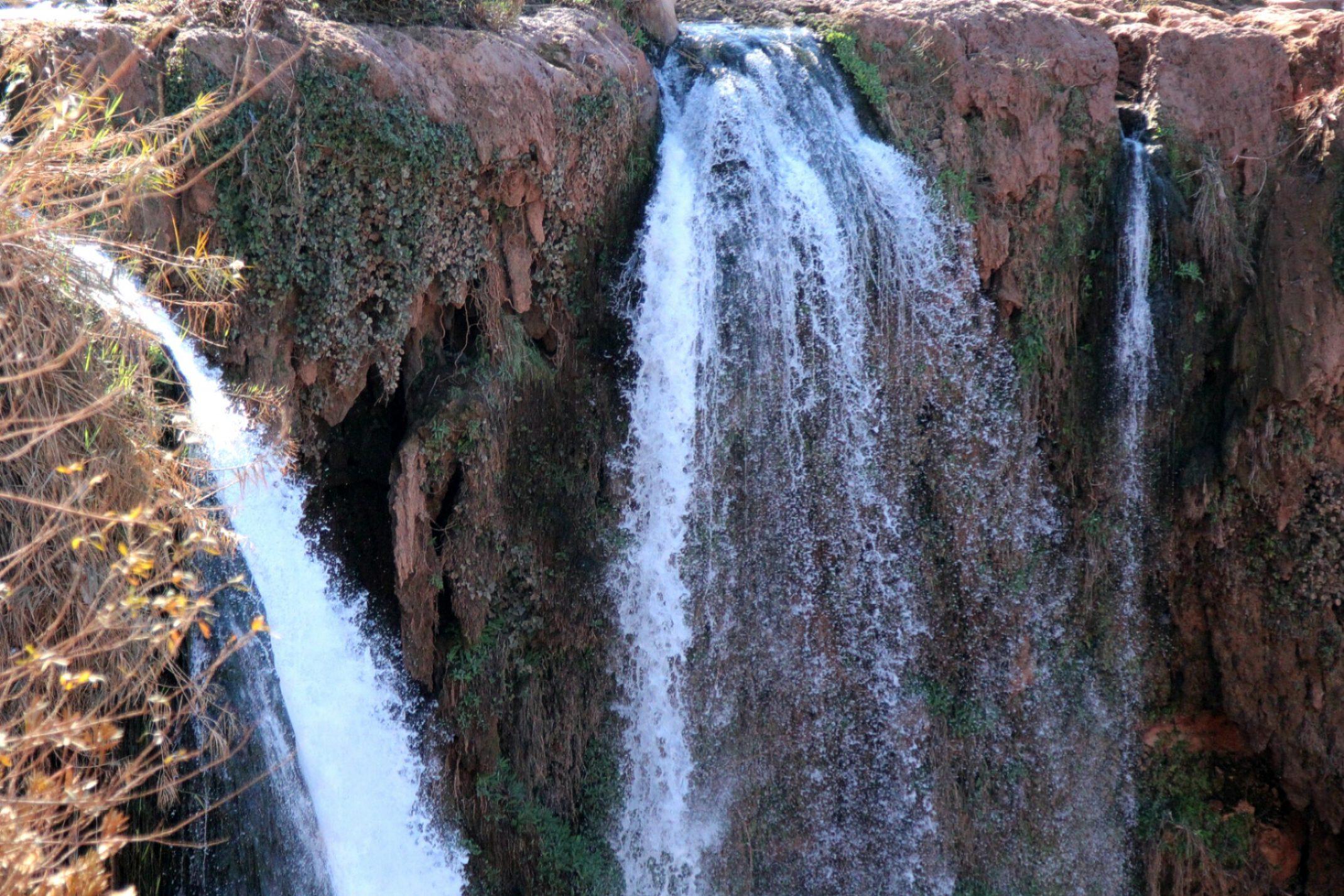 Maroko,Wodospady Szallalat Uzud