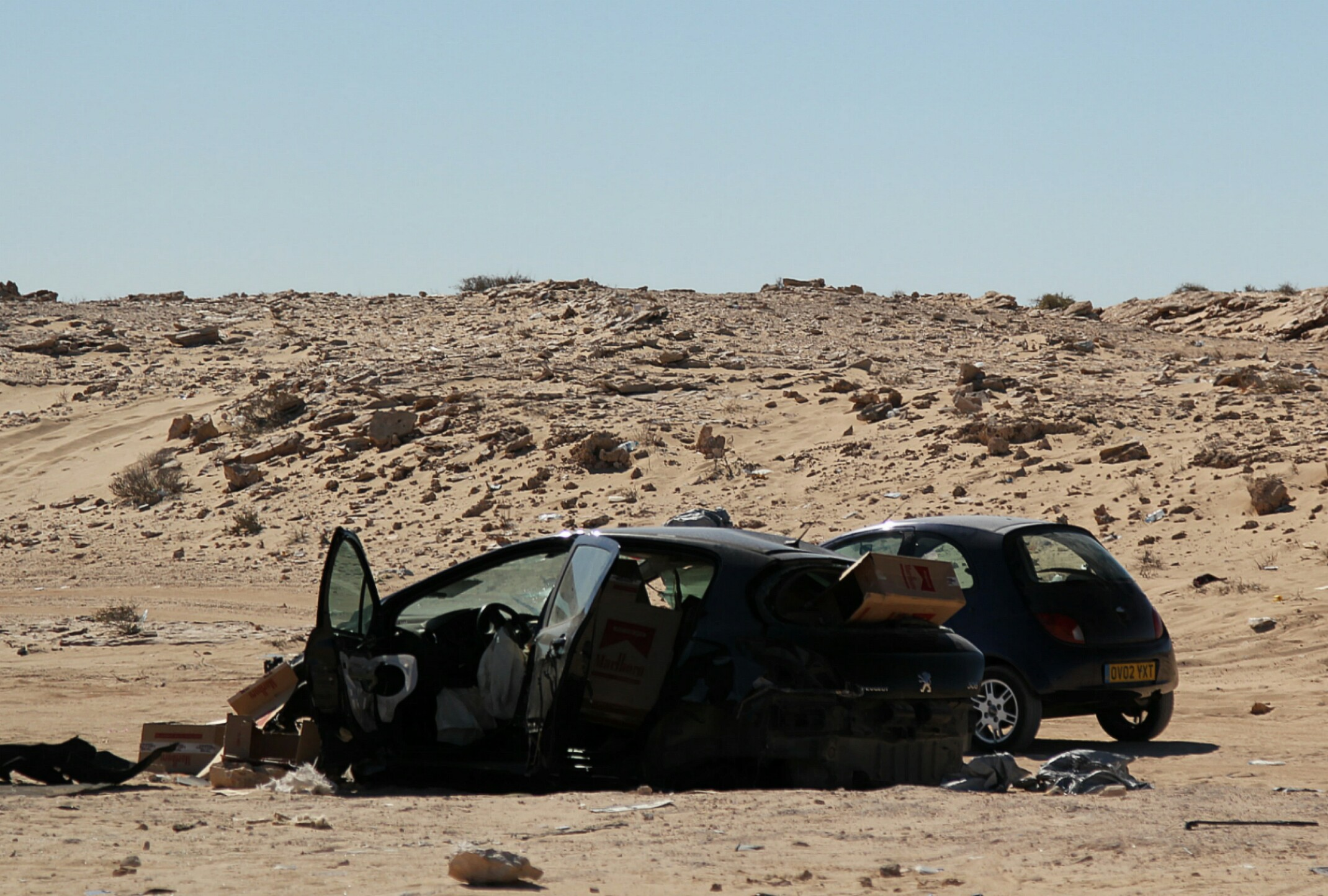 Pas ziemi niczyjej. Między Marokiem,a Mauretanią
