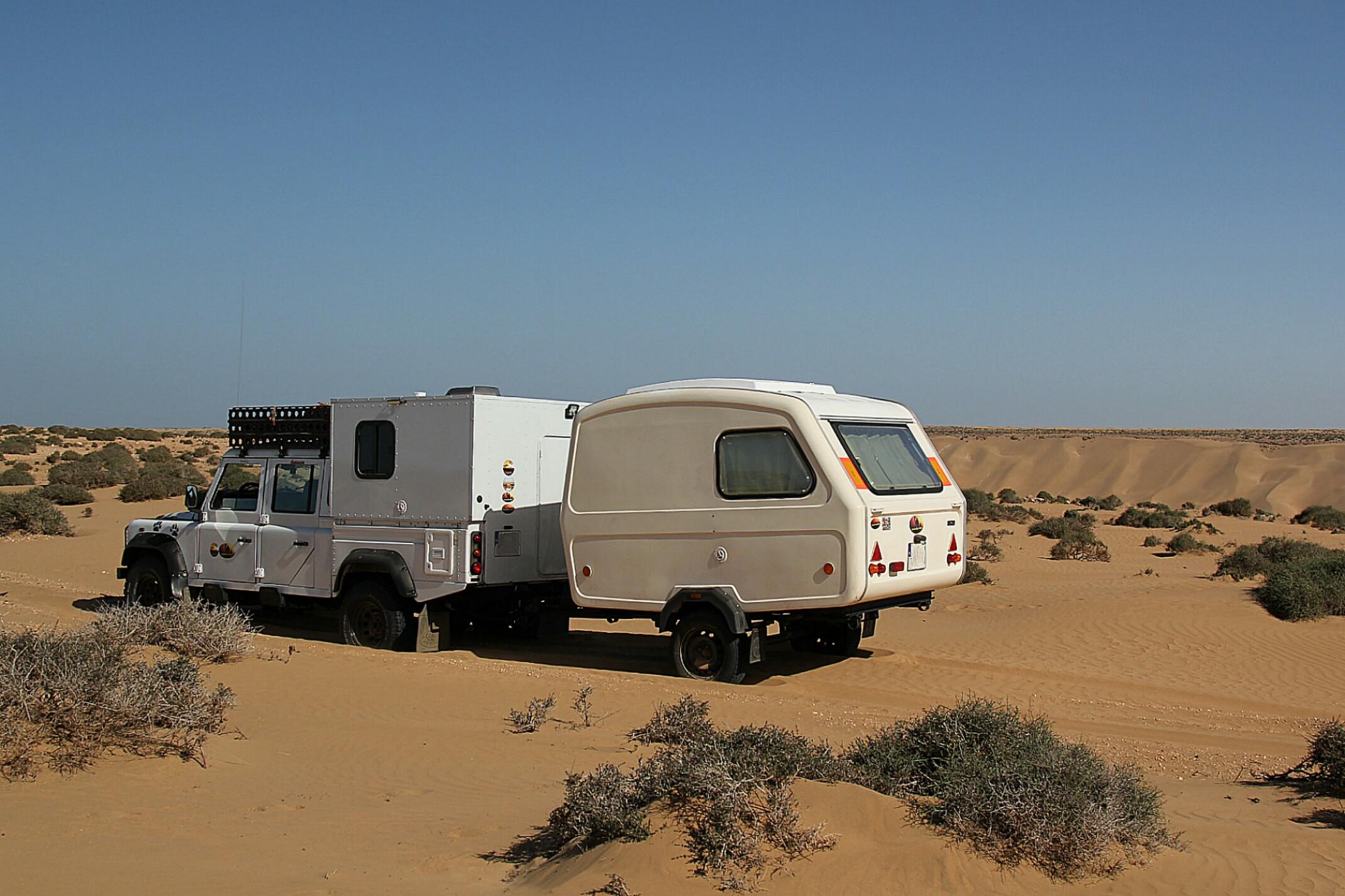 Trasa dojazdu do Fortu  Aoreora w Maroku