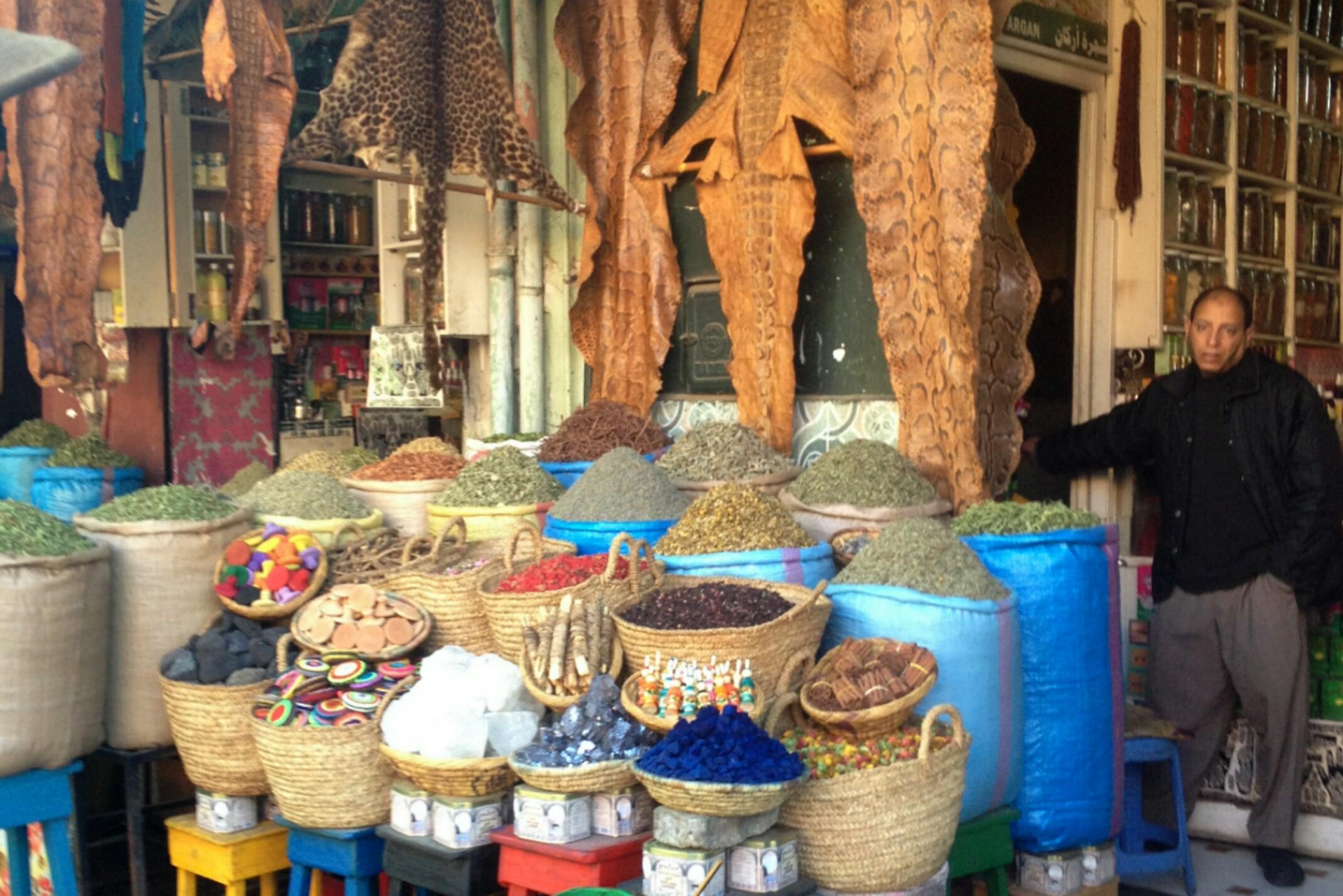 Maroko,Marakesz, PlacDżamaa al-Fina