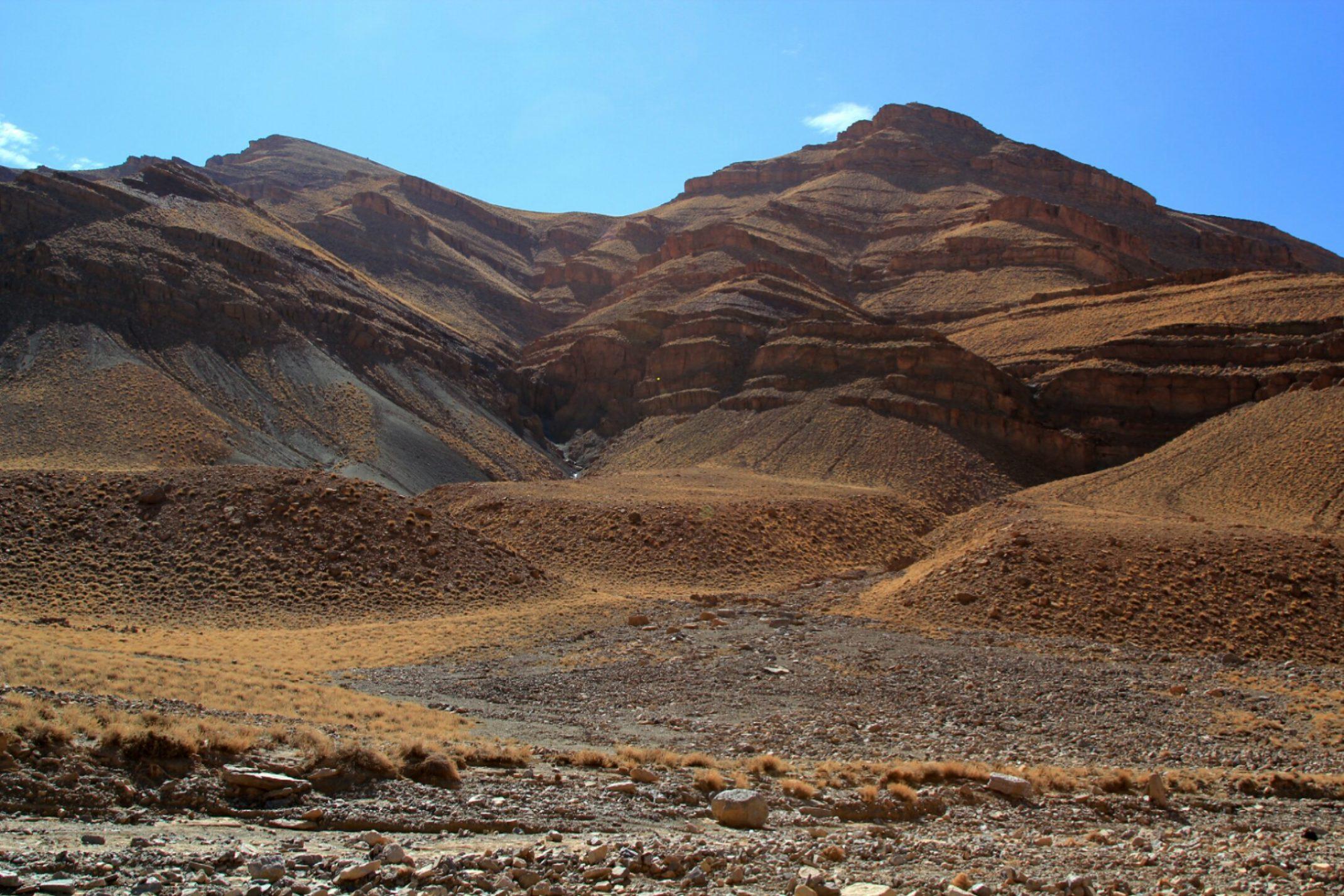 Maroko Za wąwozem Todra