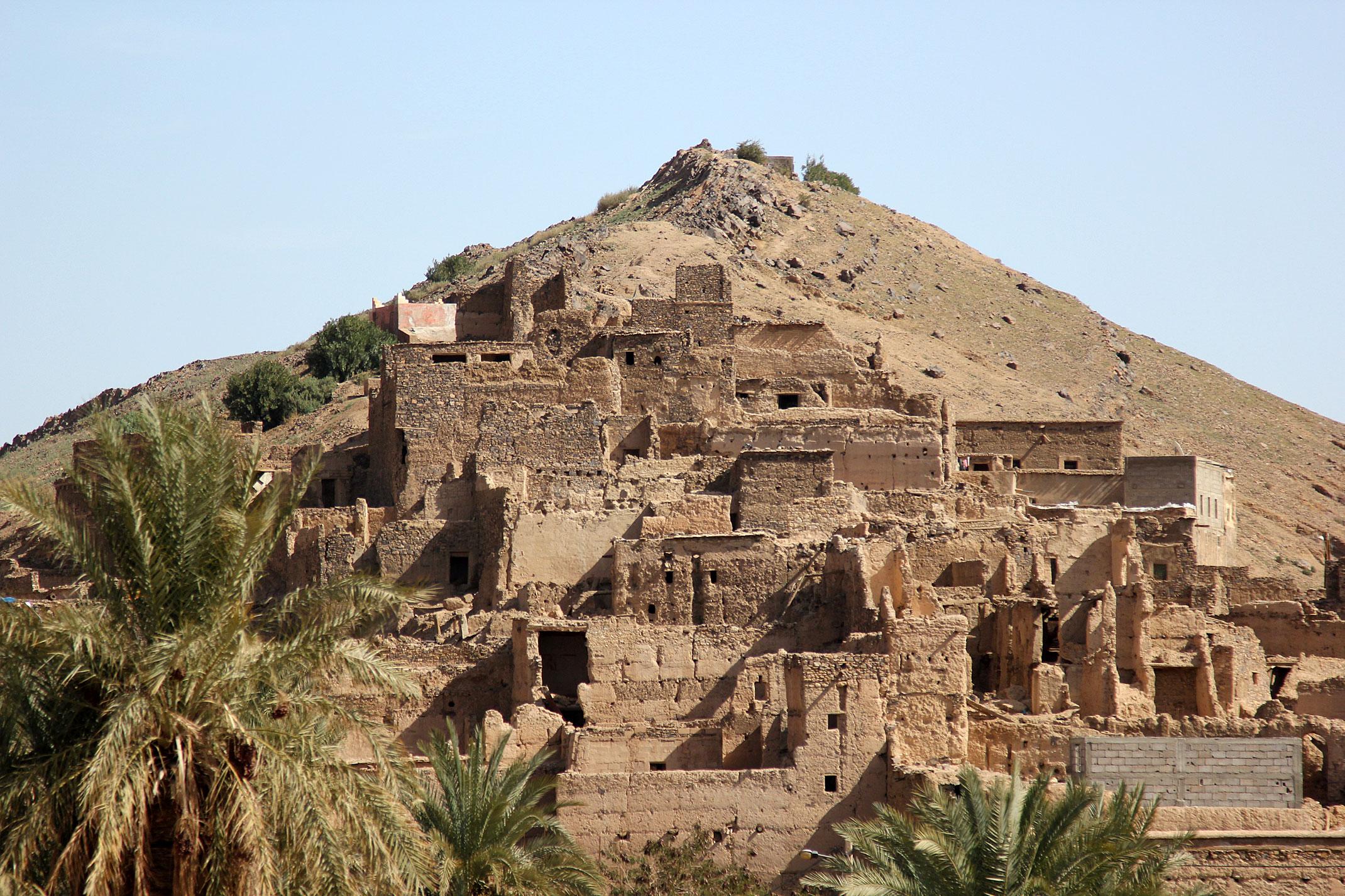 Maroko.Stara kazba