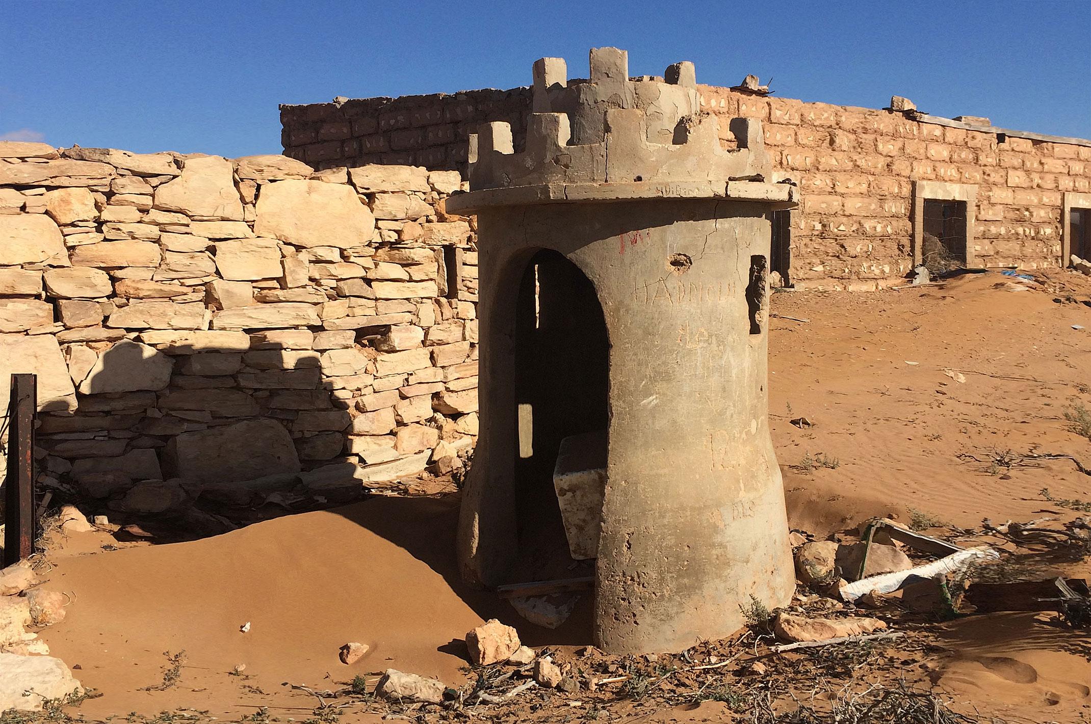 Maroko.Sahara Zachodnia.Stary Fort El-Hagunia
