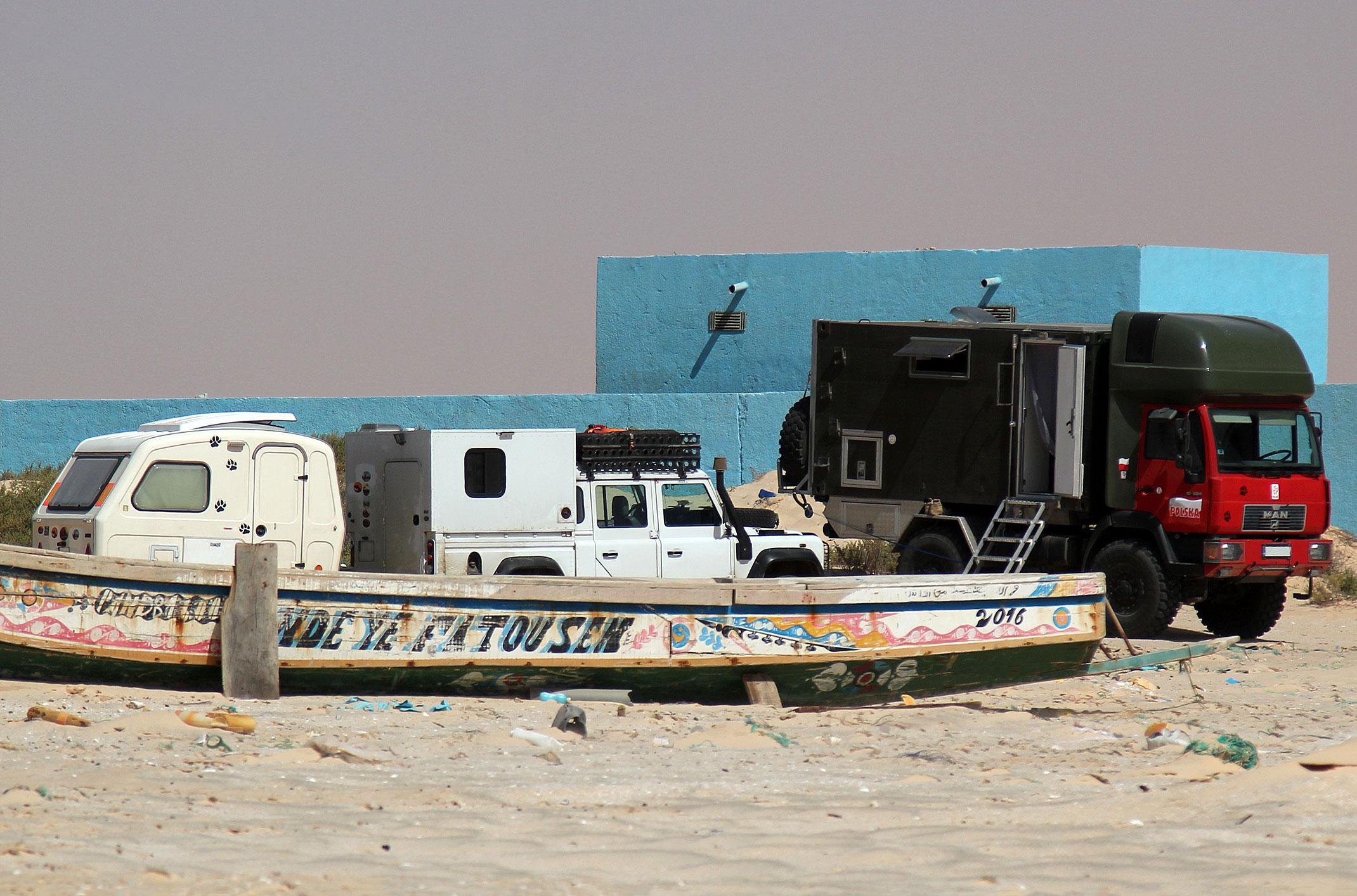 Mauretania.Tiwilit.Bezpieczne miejsce na nocleg.
