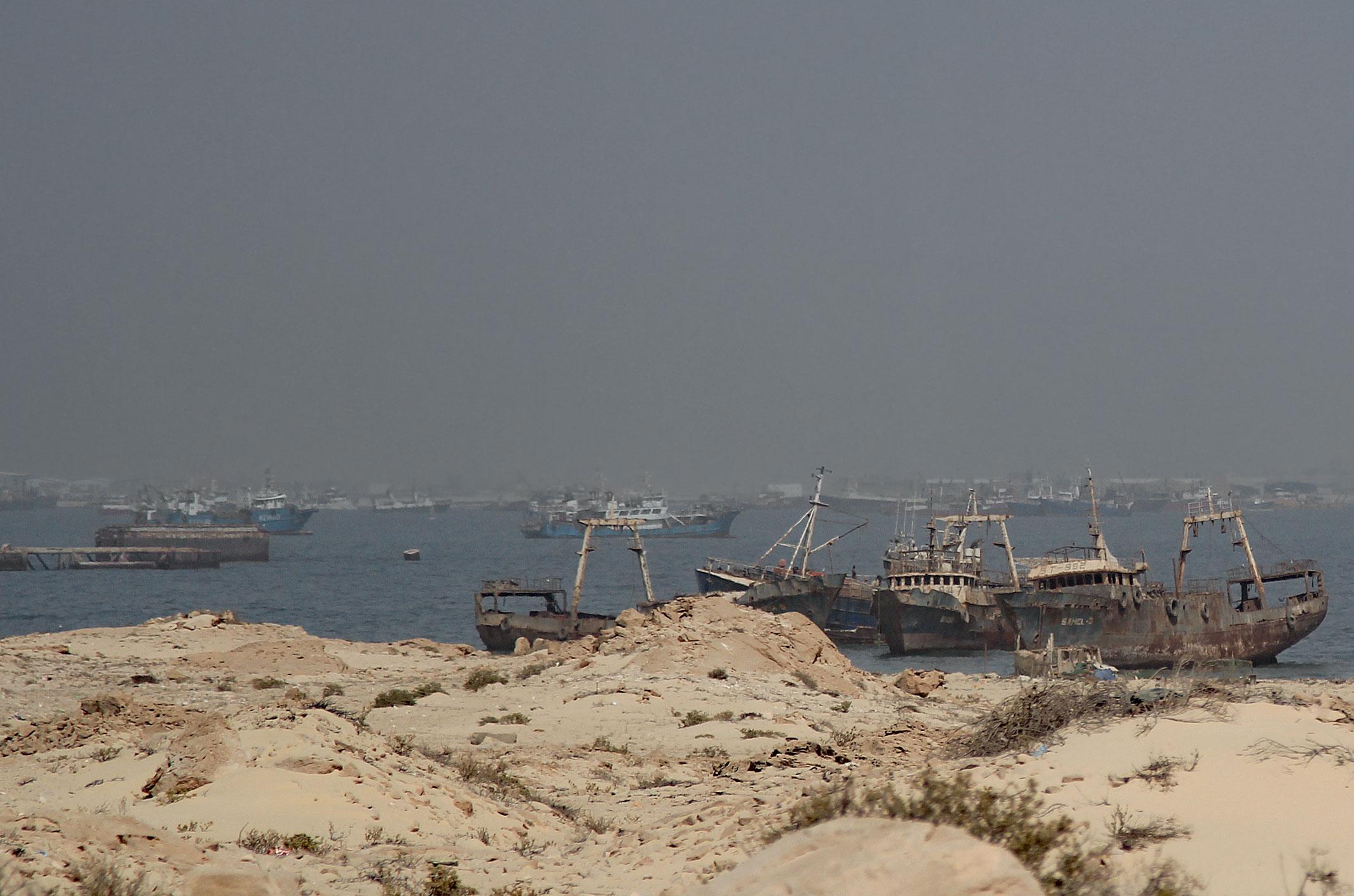 Mauretania.Zatoka wraków