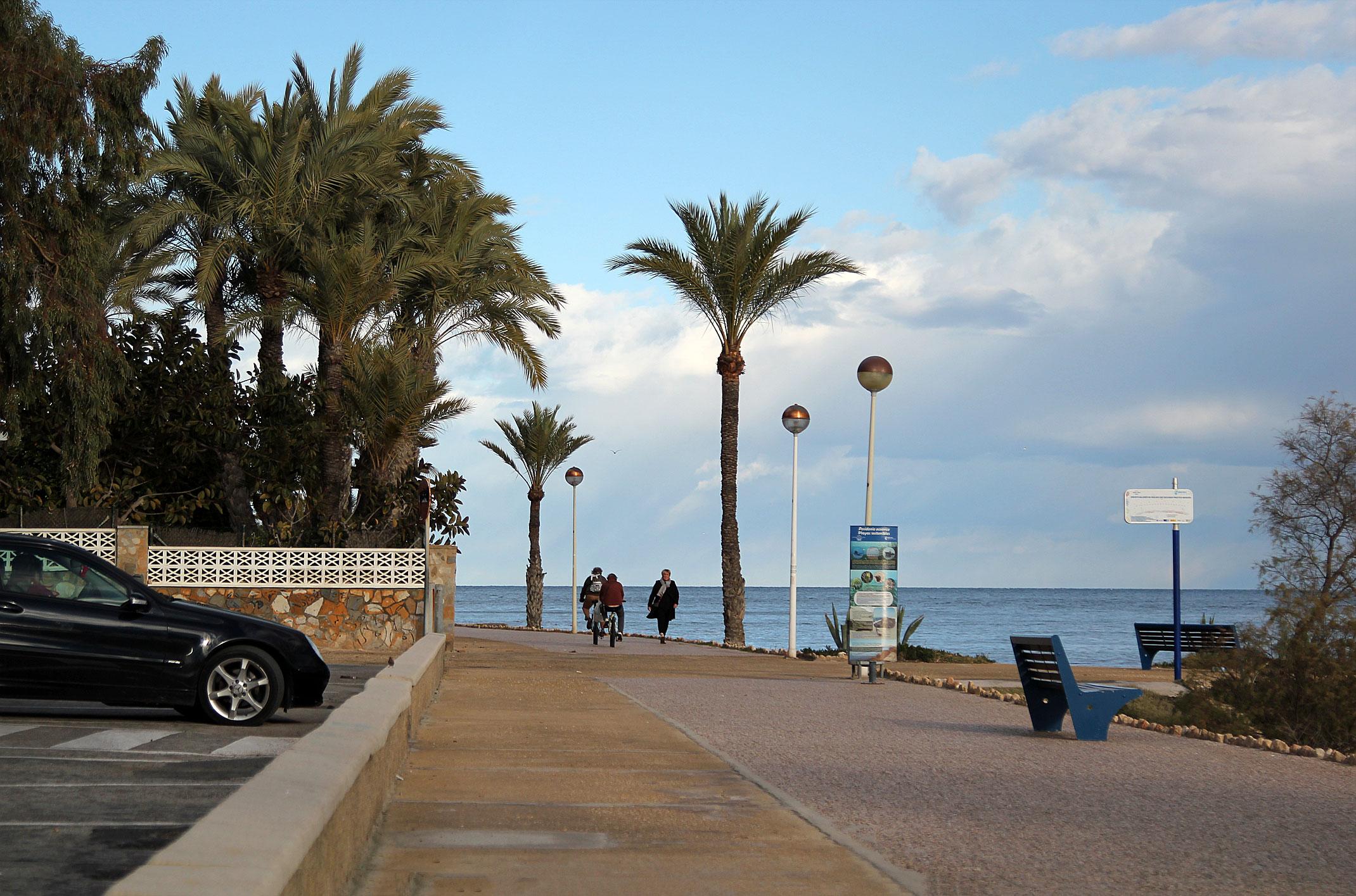 Darmowy parking w Hiszpanii.Santa Pola