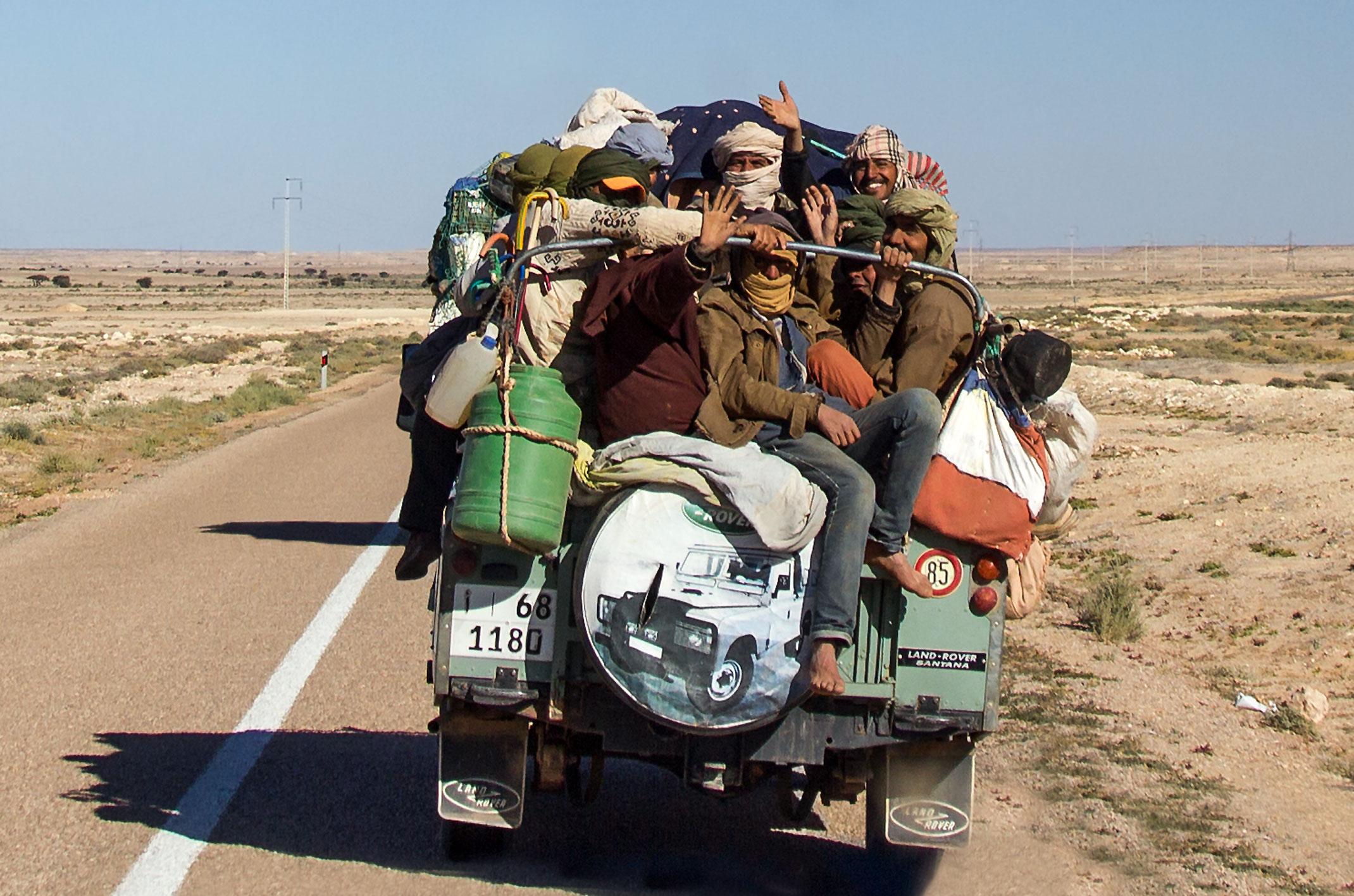 Maroko.jazda terenowym samochodem