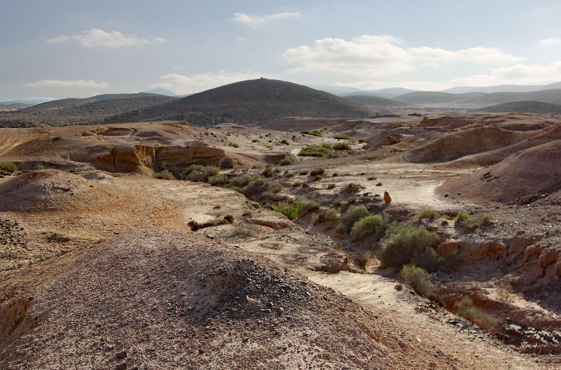 Droga dojazdowa do Fort Bou Jerif,trasa 4x4