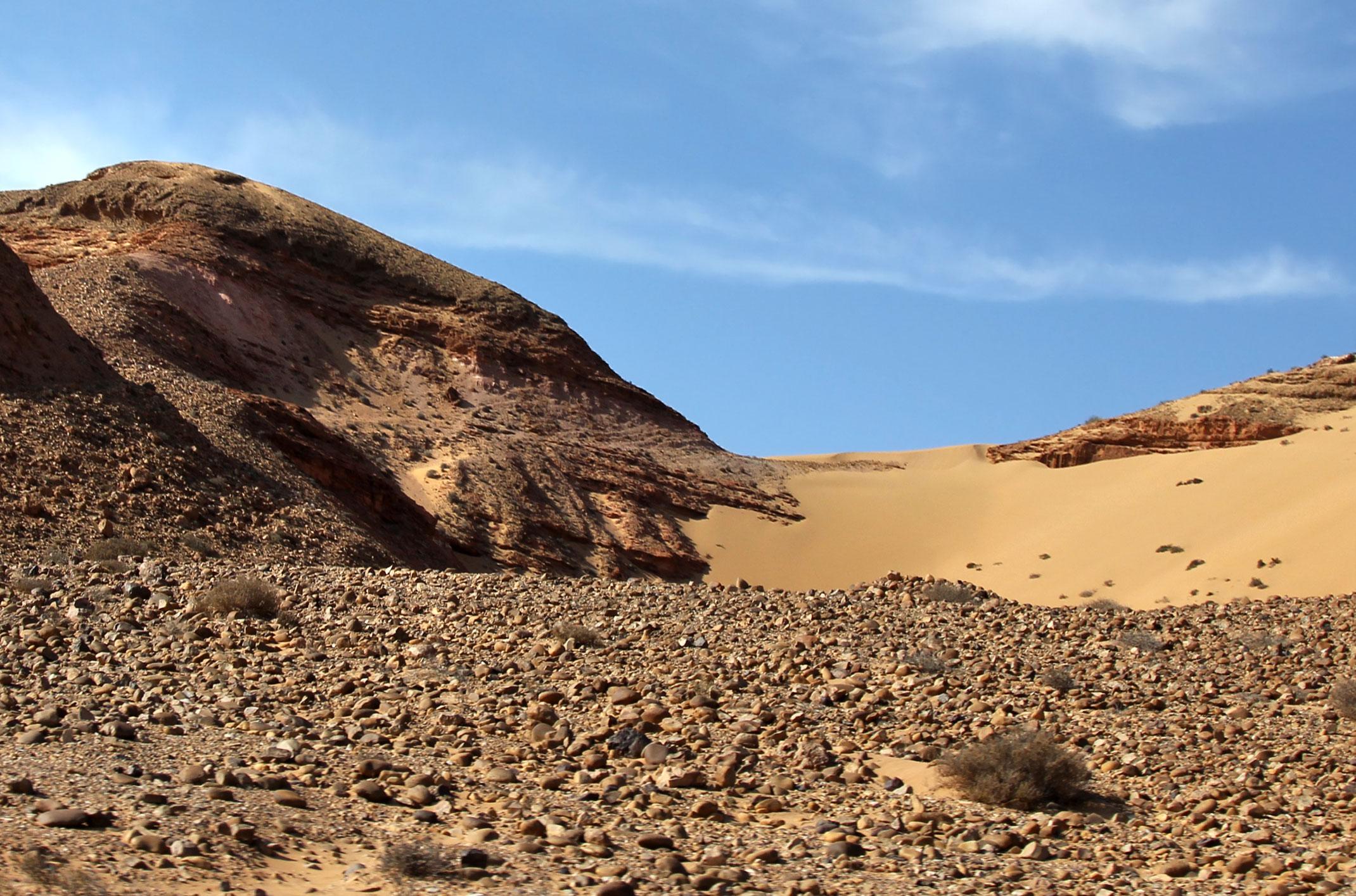 Maroko.Dojazd do fortu Tafnidilt