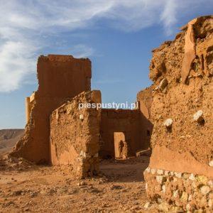 Ruiny fortu - Blog podróżniczy - PIES PUSTYNI