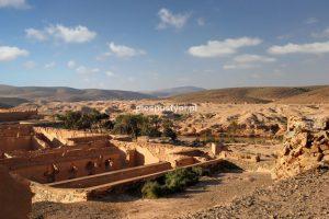 Ruiny twierdzy Bou Jerif - Blog podróżniczy - PIES PUSTYNI