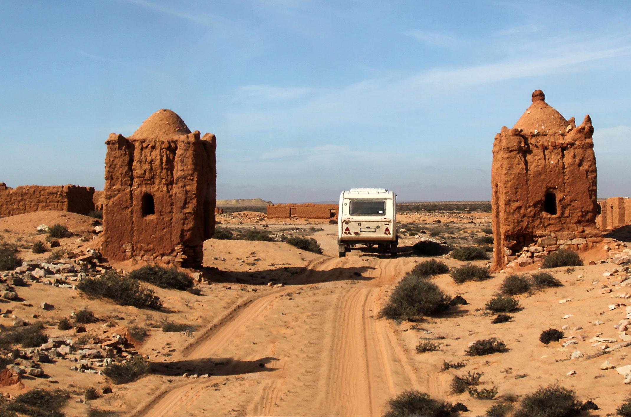 Maroko.Province de Tan-Tan, Guelmim-Es Semara.Abteh
