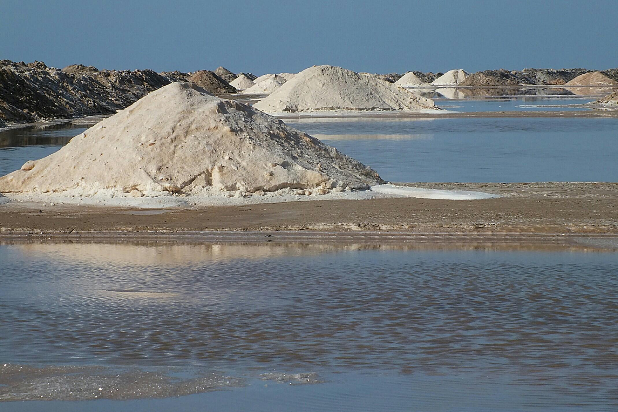 Maroko.Solnisko.Sól morska