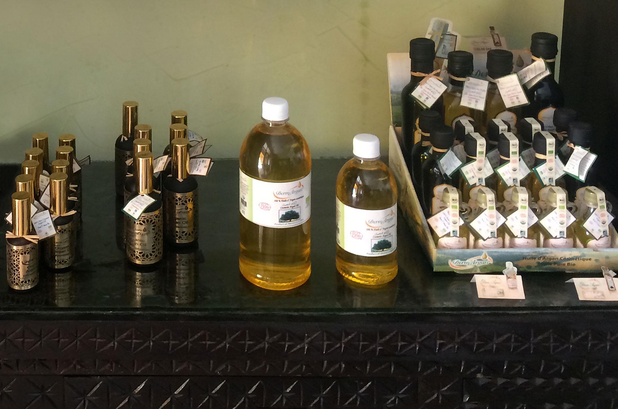 Kosmetyczny olej arganowy z Maroka