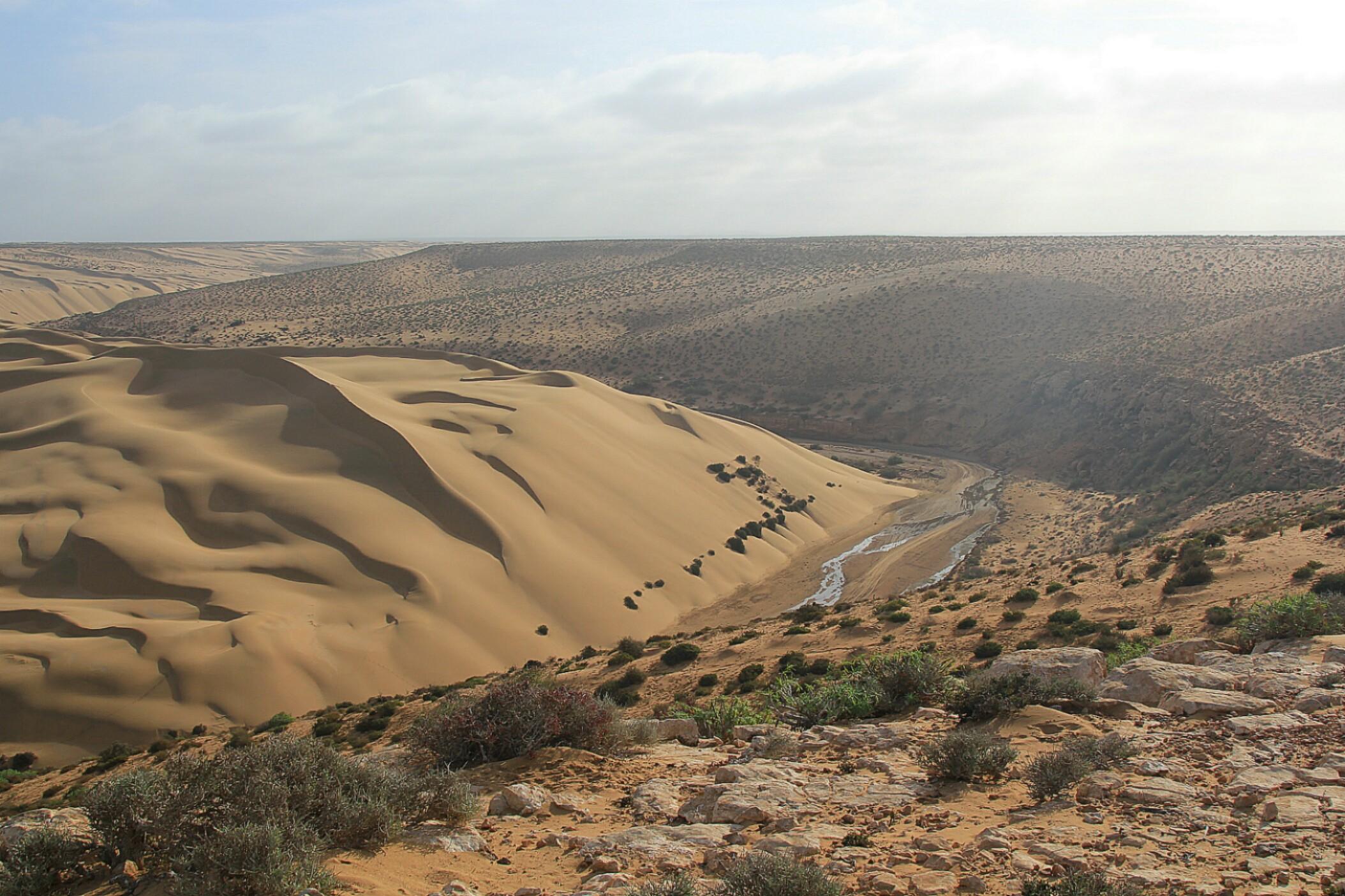 Maroko.Droga do Fortu Aoreora.