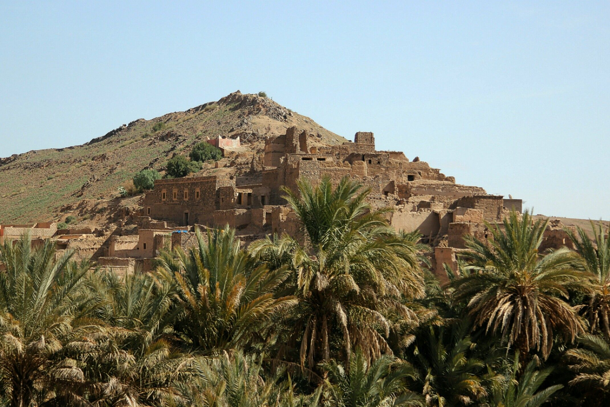 Maroko.Kazba