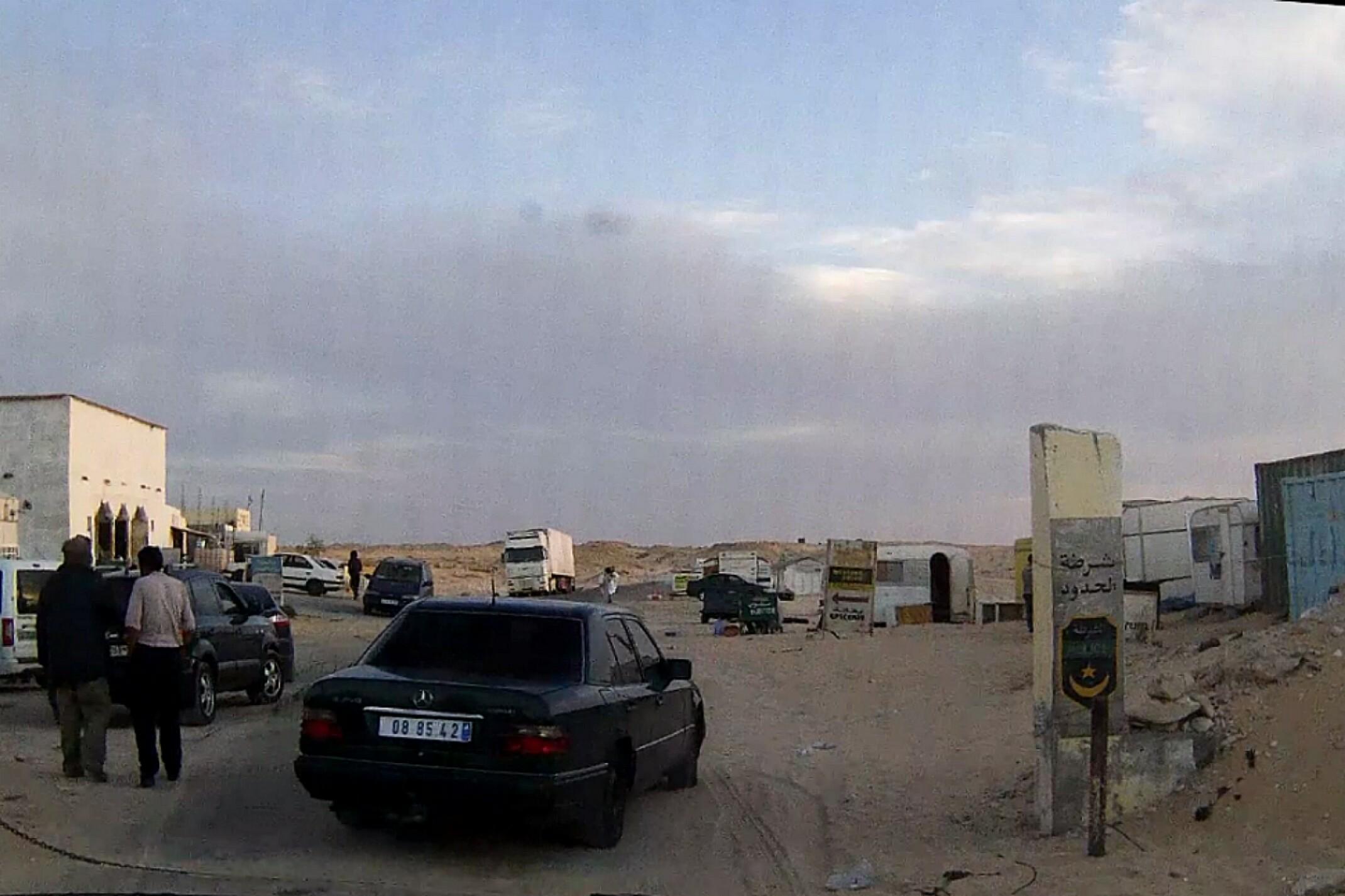 Mauretania.Przejście graniczne