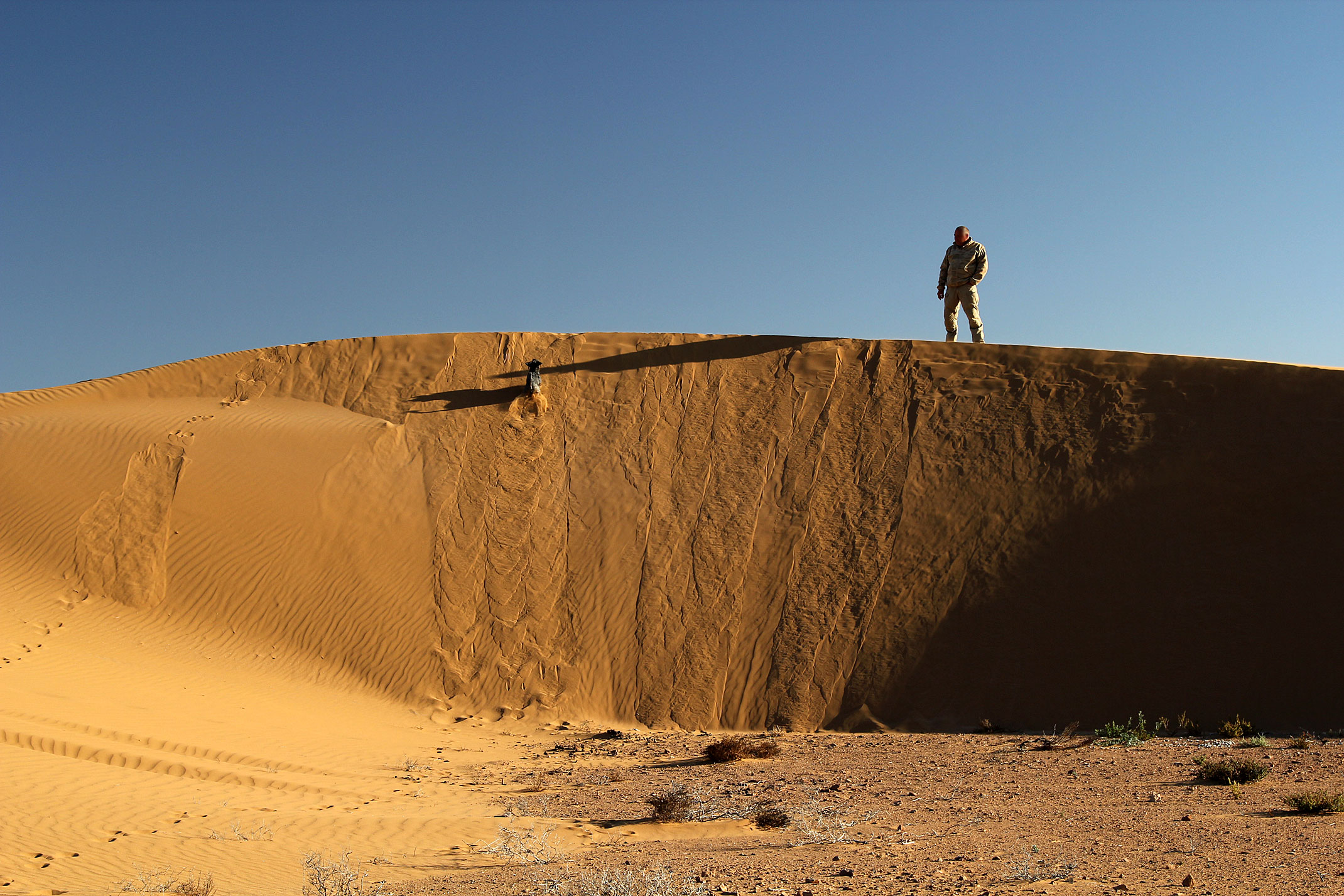 Sachara Zachodnia.Piaski pustyni.