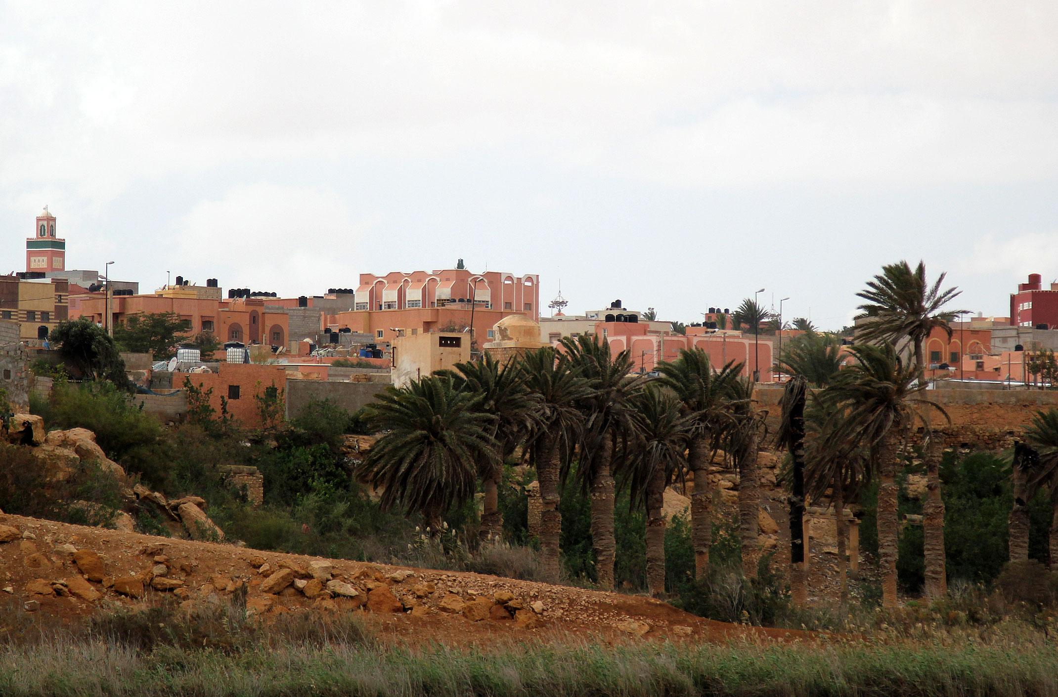 Kamperem do Maroka