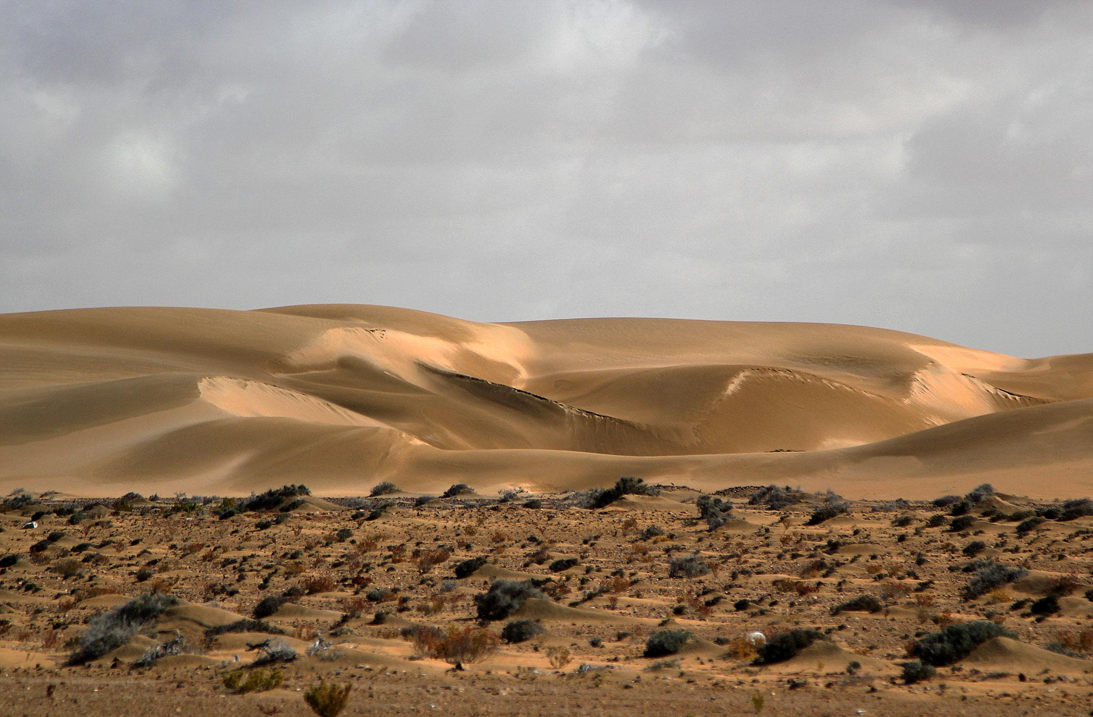 Kamperem przez Maroko