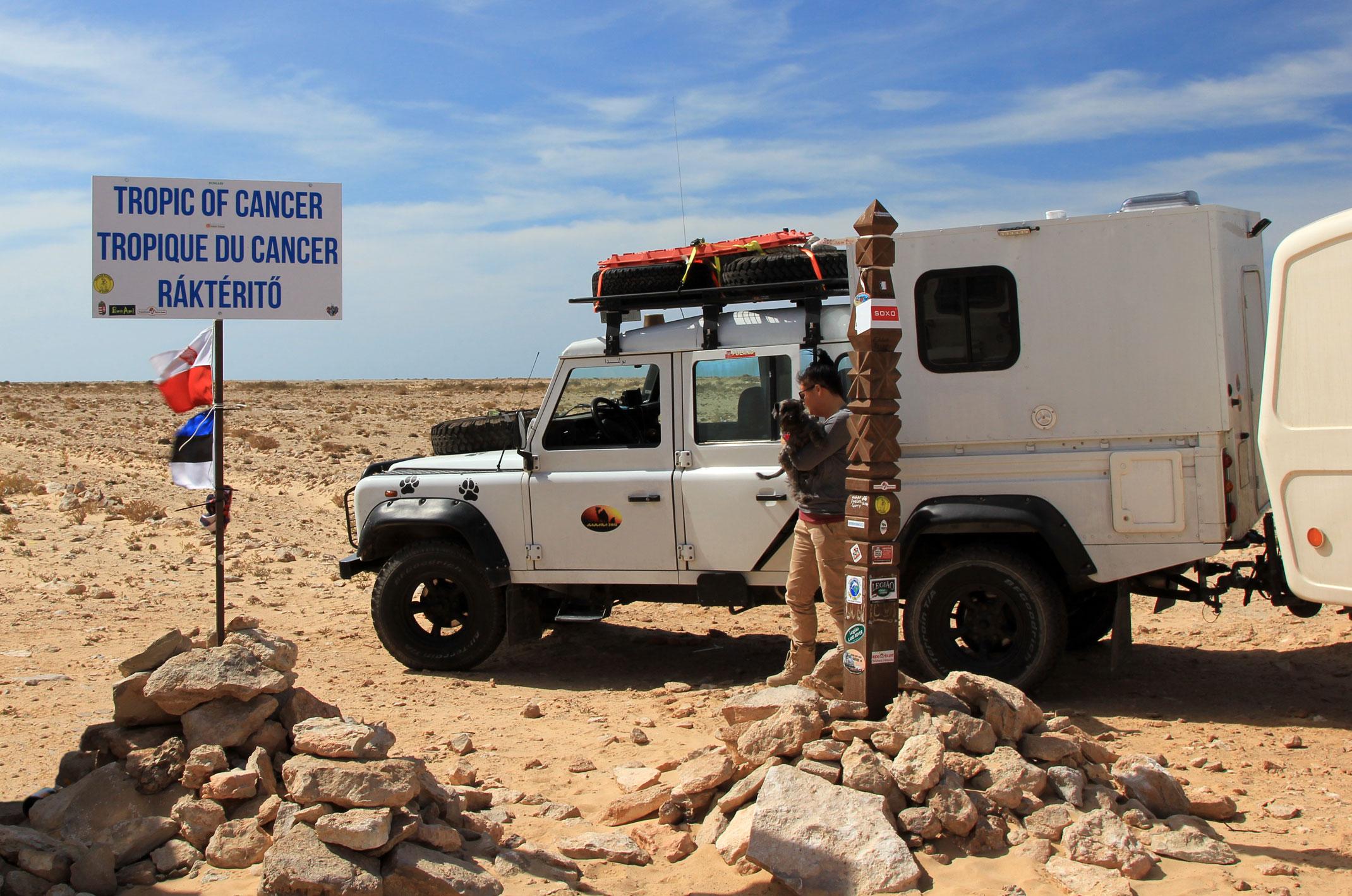 Maroko.Zwrotnik raka