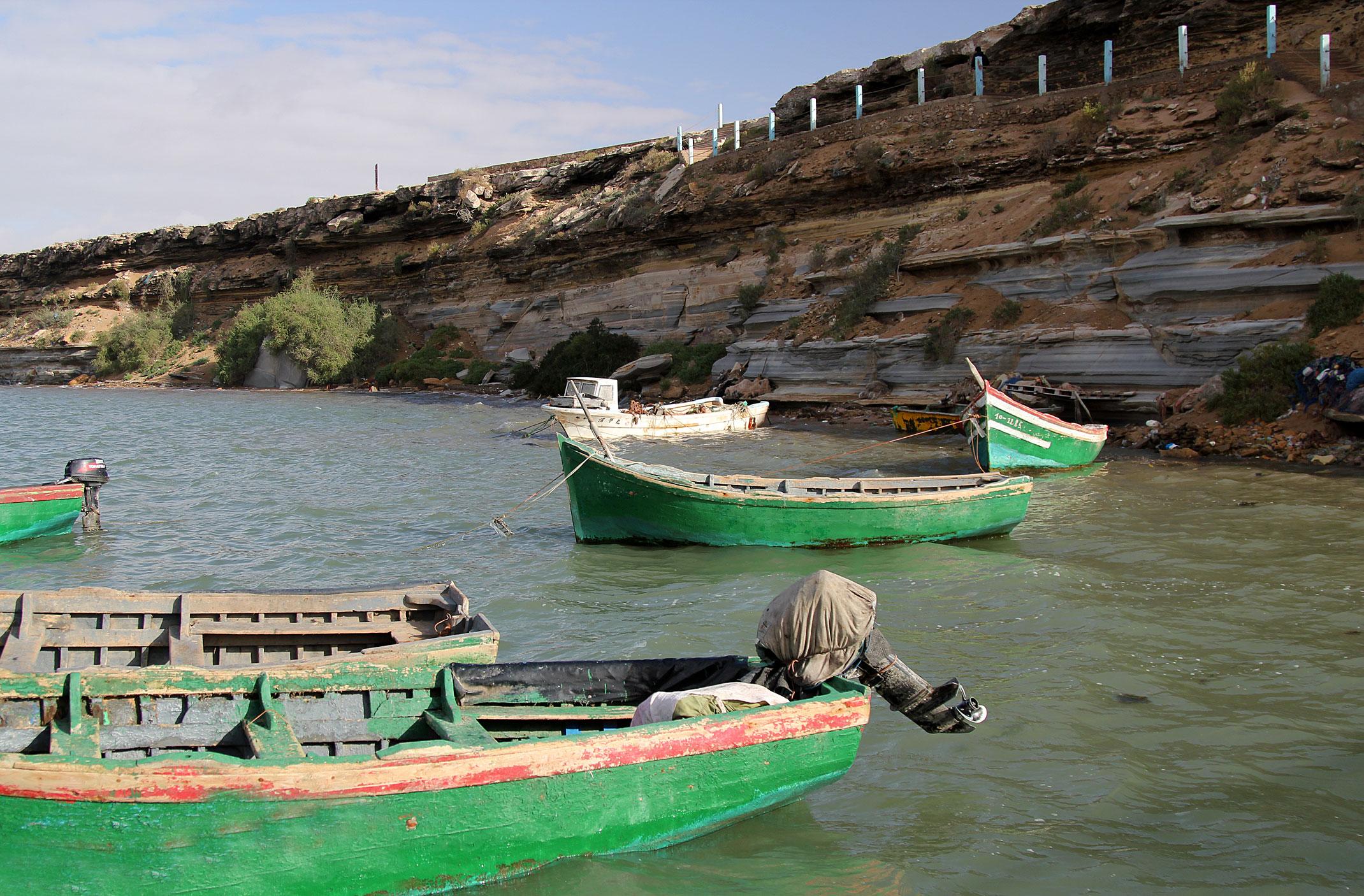 Maroko.Laguna Khenifiss