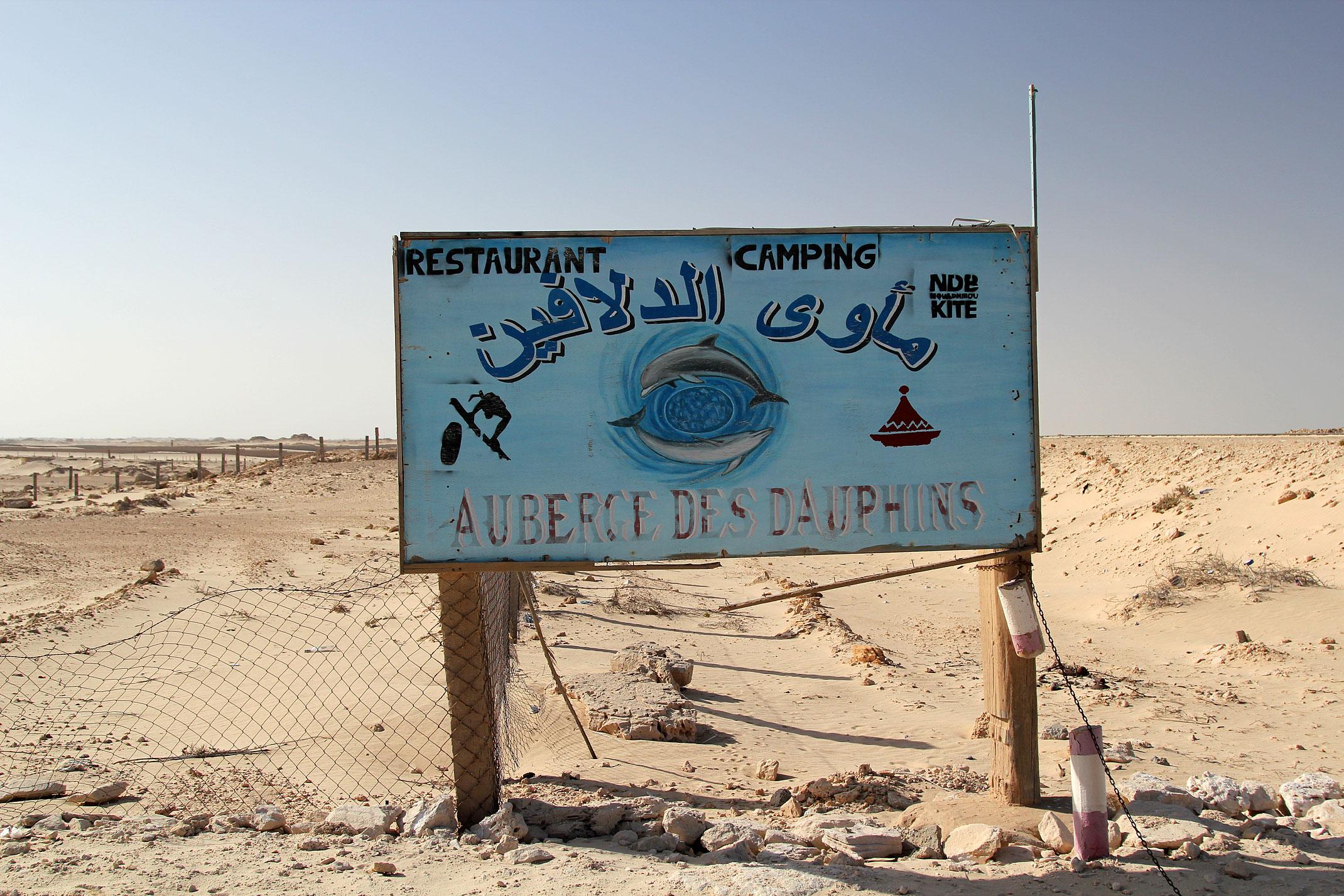 Mauretania.Auberge des Dauphins