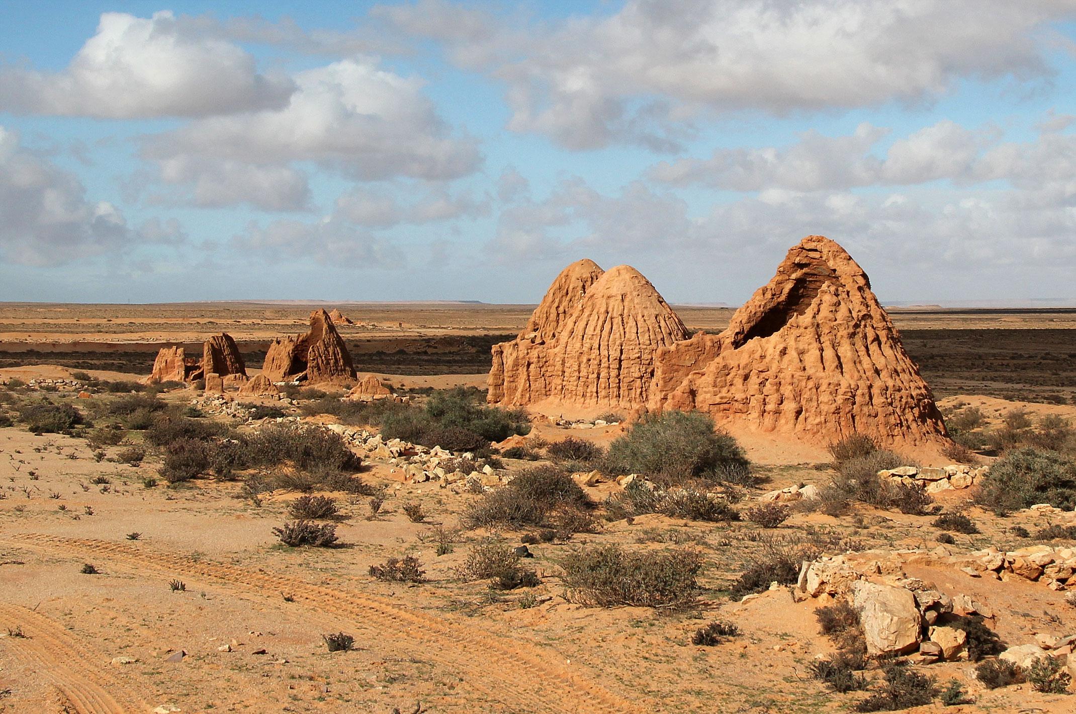 Maroko.Wioska z filmu Star Wars