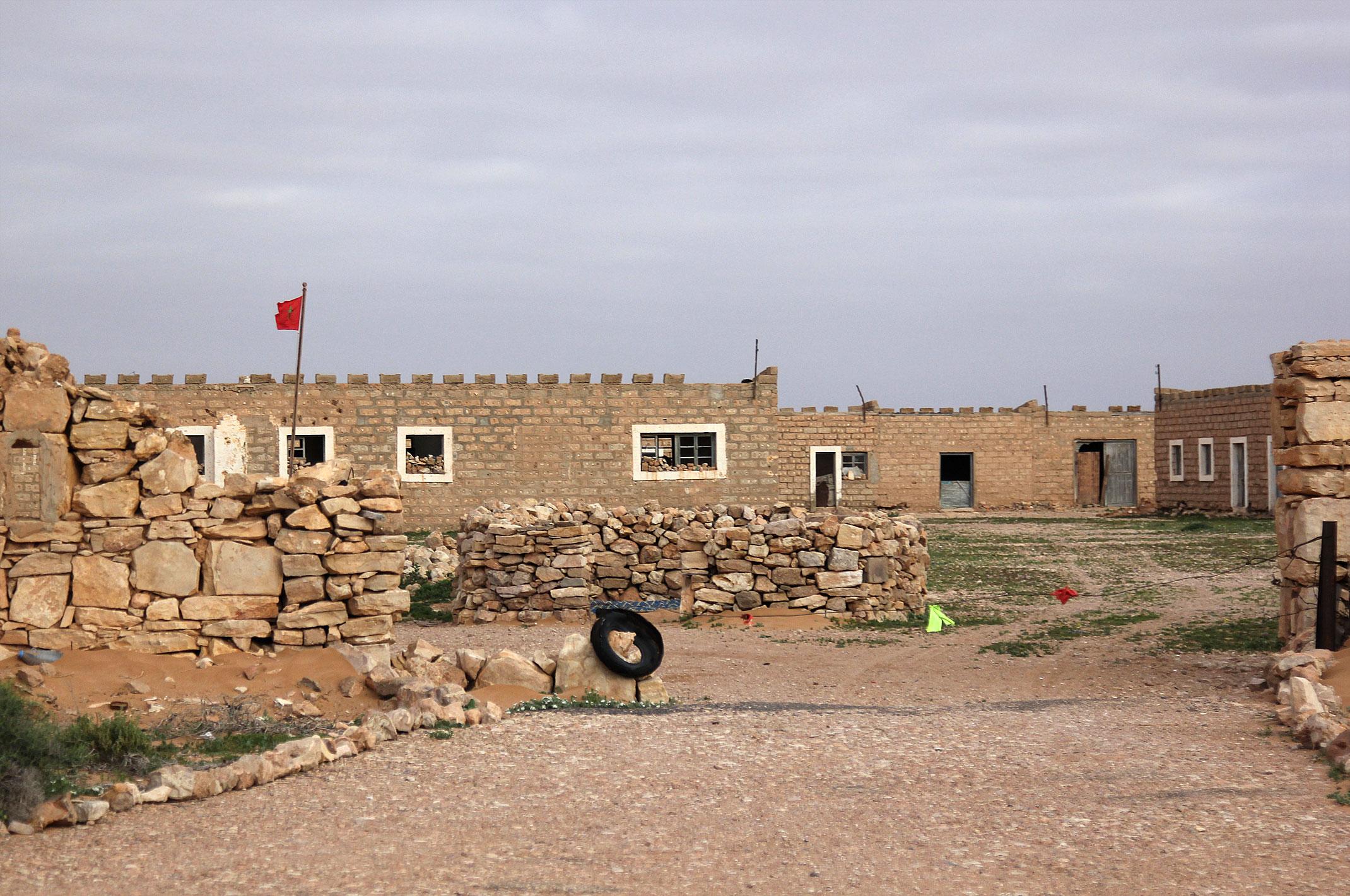 Maroko.Sahara Zachodnia.El-Hagounia.Stary Fort