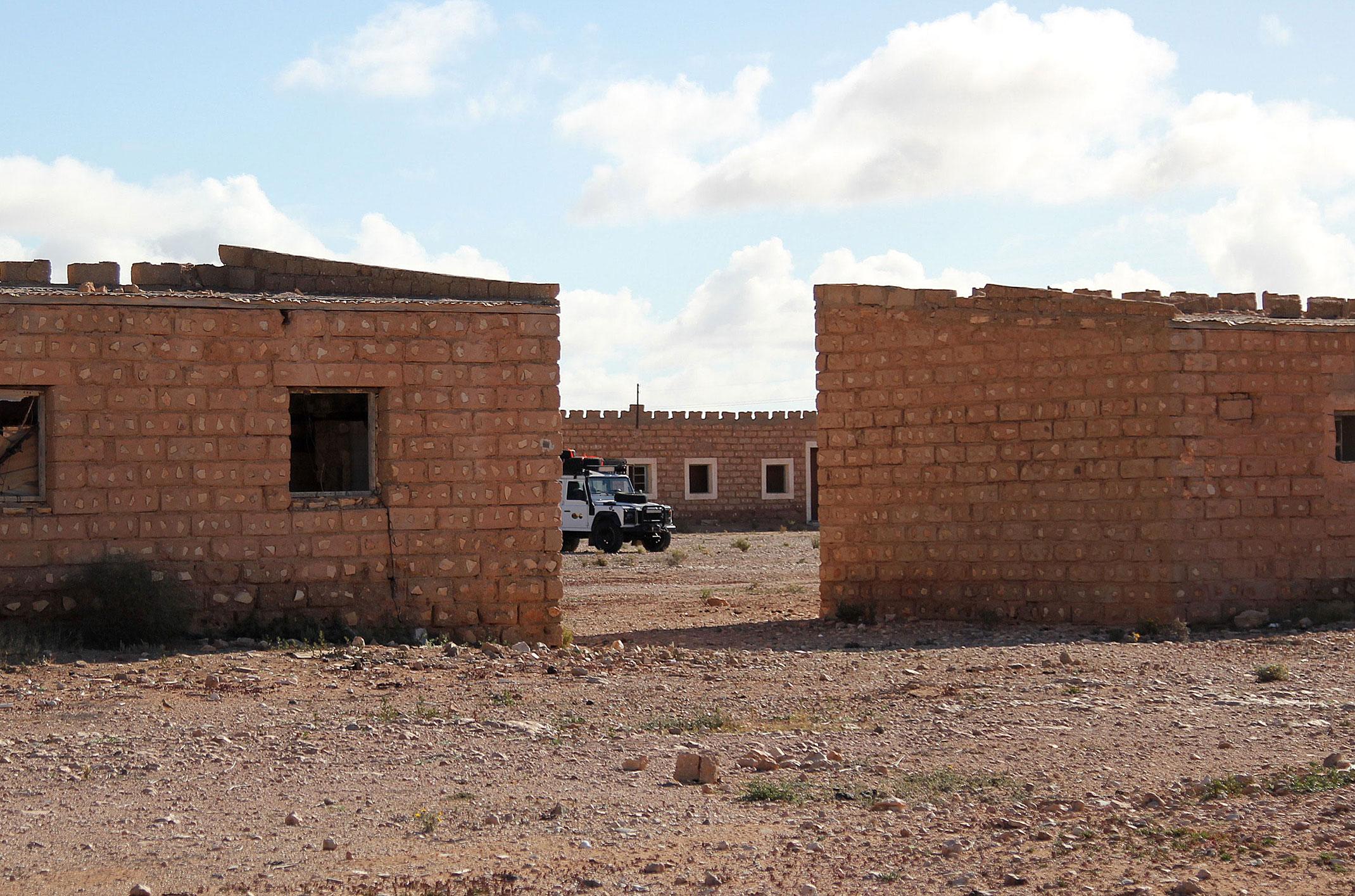 Maroko.Sahara Zachodnia.Stary Fort El-Hagounia