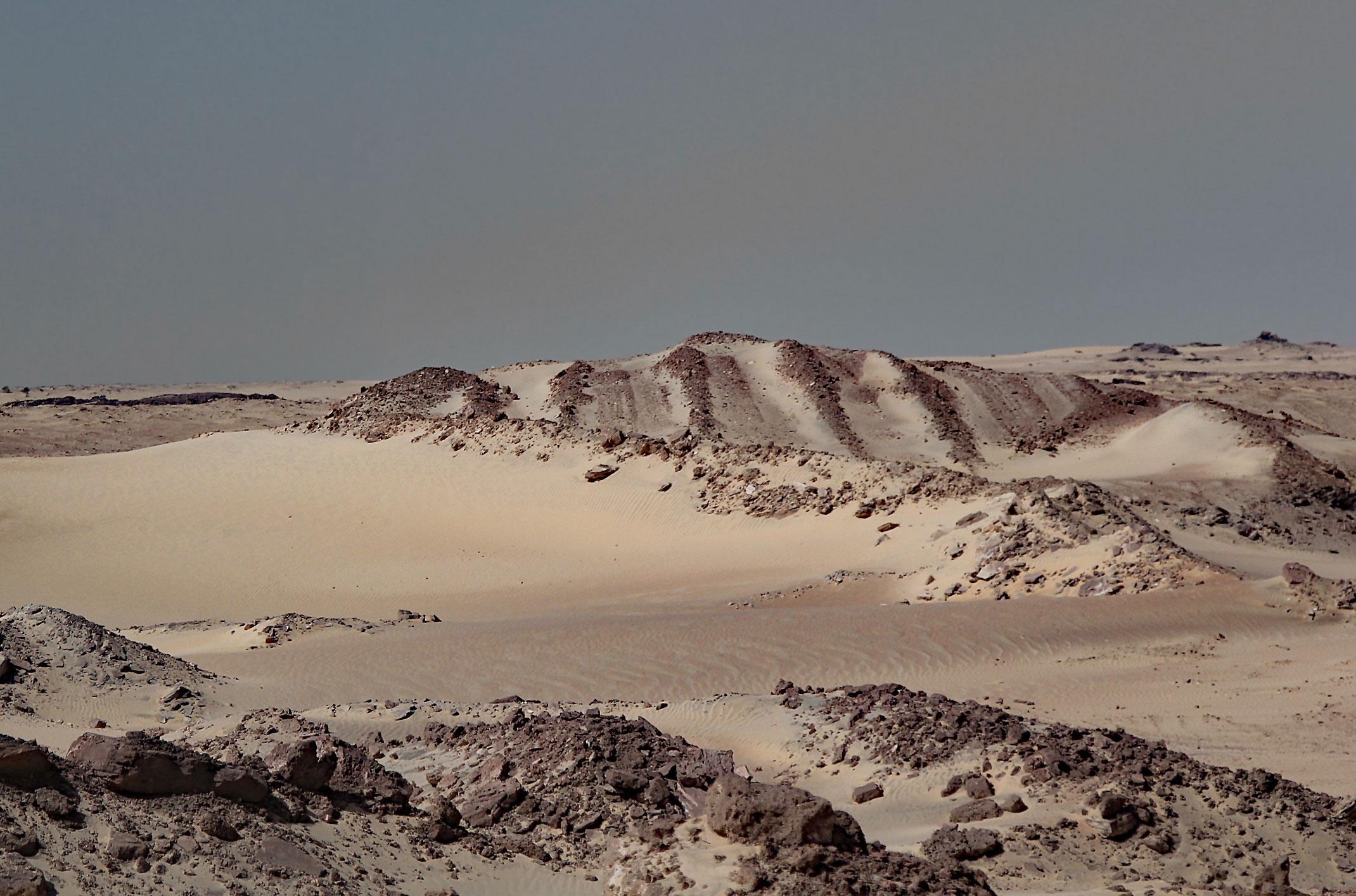 Mauretania.Droga na Cap Blanc