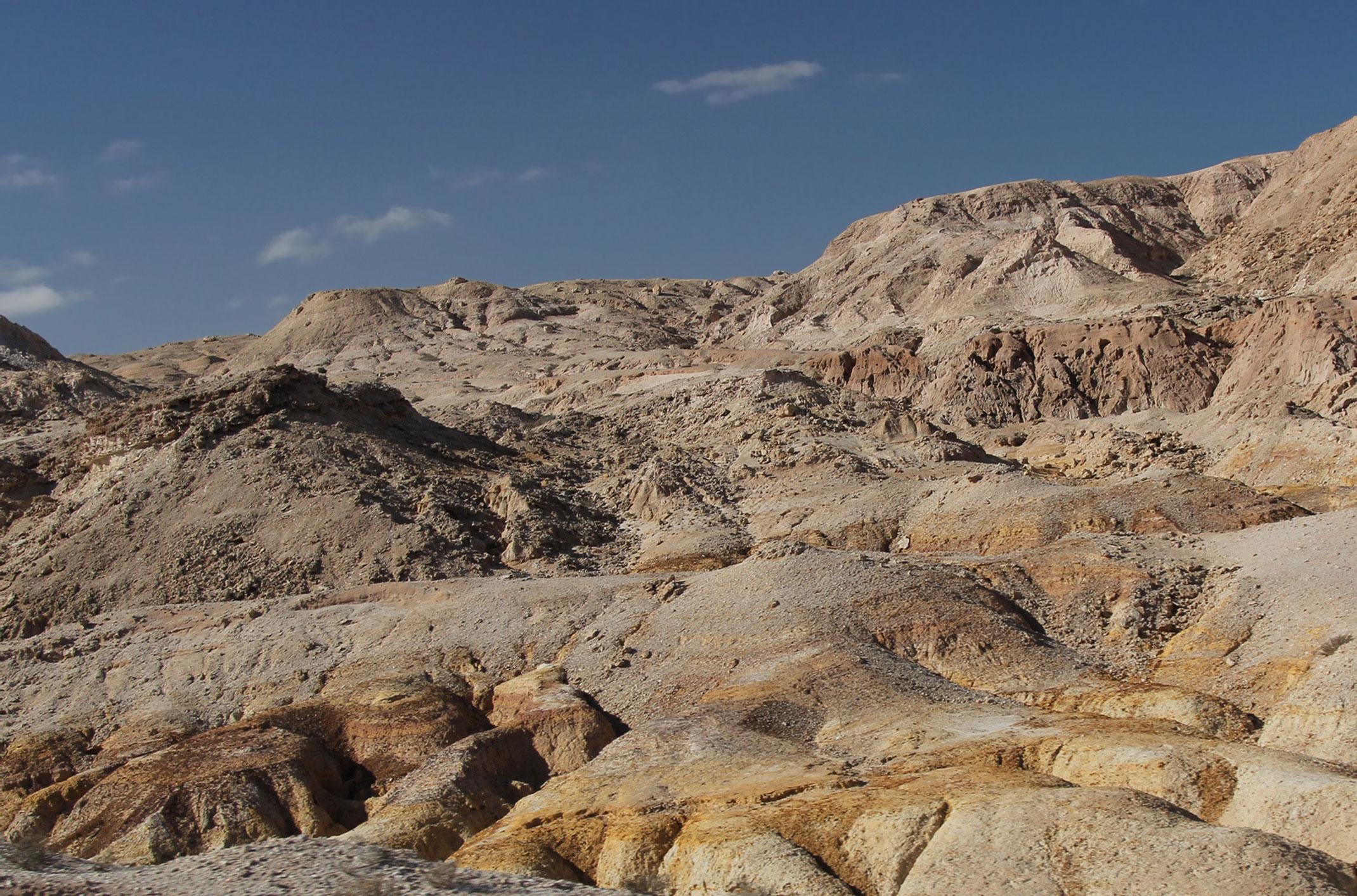 Sahara Zachodnia. Laayoune-Sakia el Hamra.Jraifia - Village de Pêche Oued Kraa