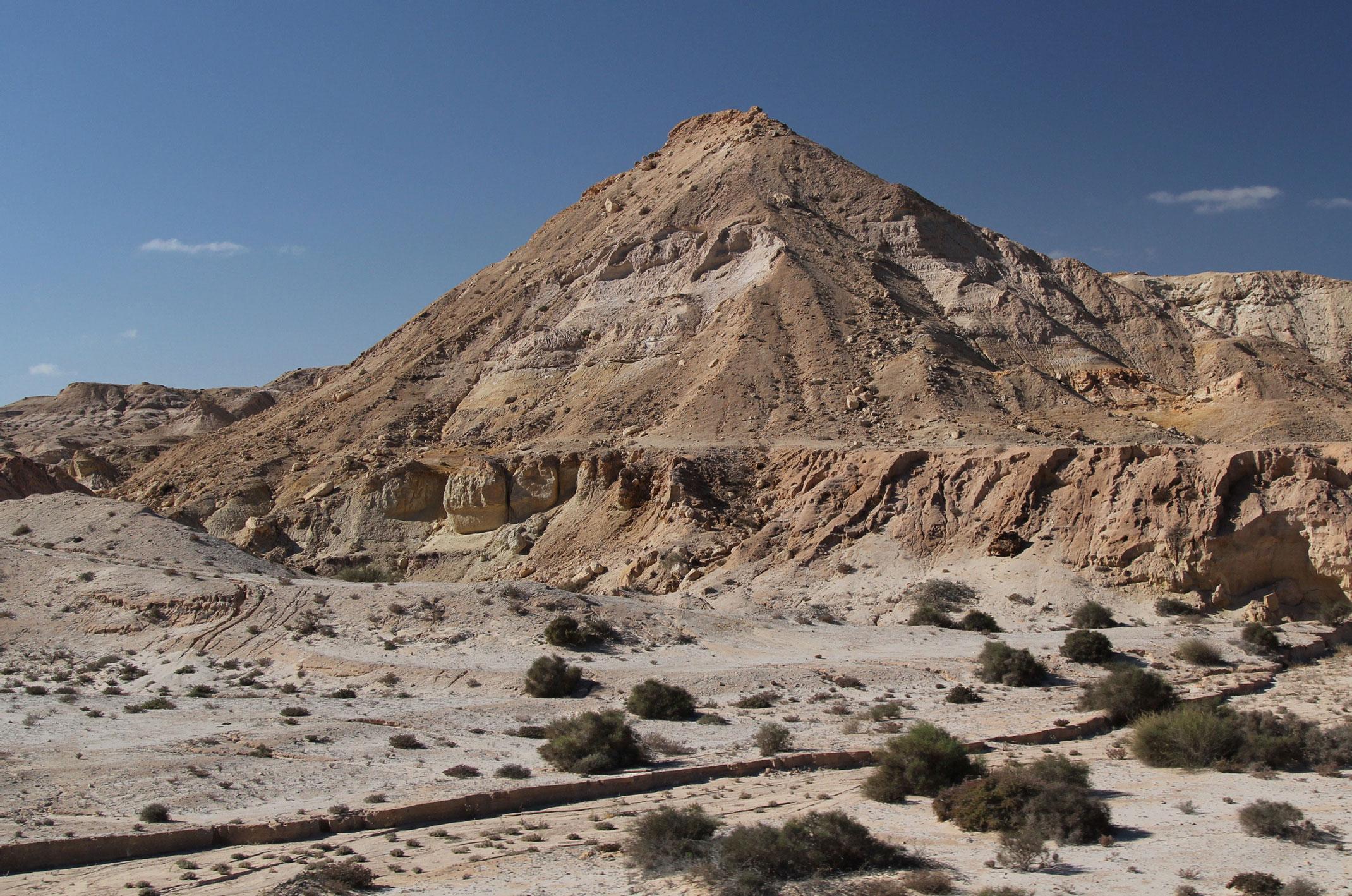 Sahara Zachodnia.Oued Kraa