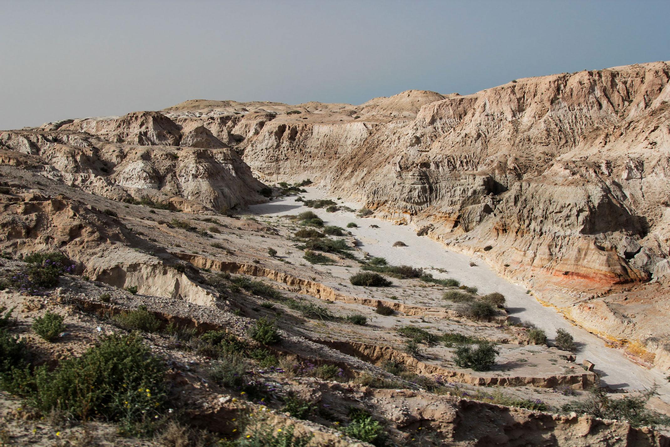Maroko.Oued Kraa