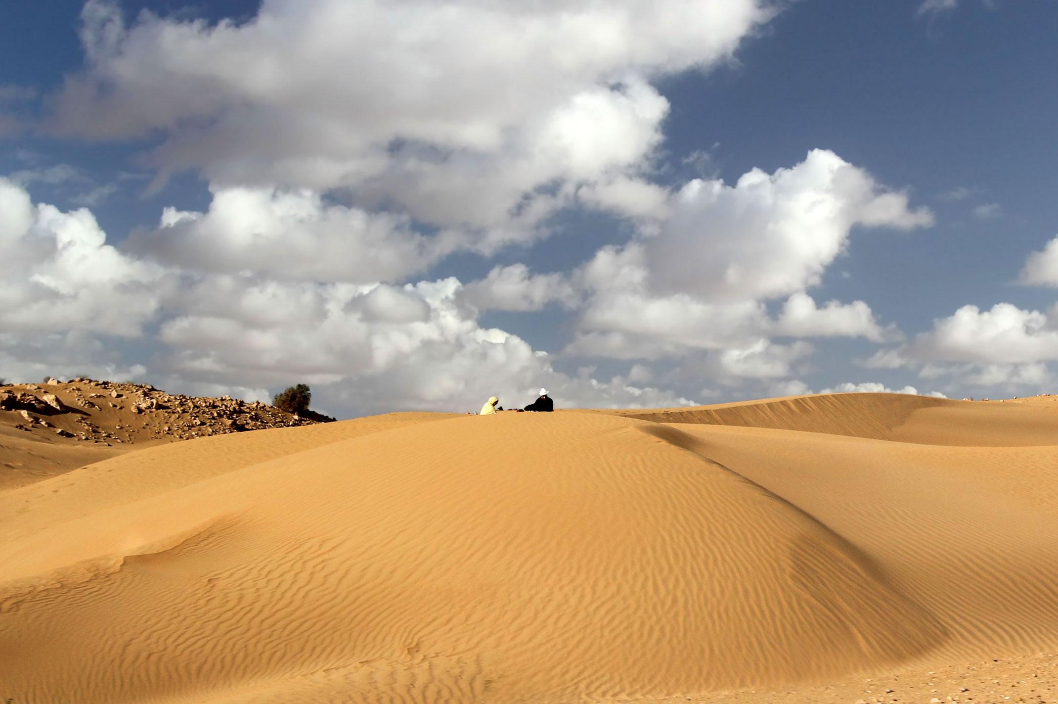 Droga do Laayoune.Maroko.Sahara Zachodnia