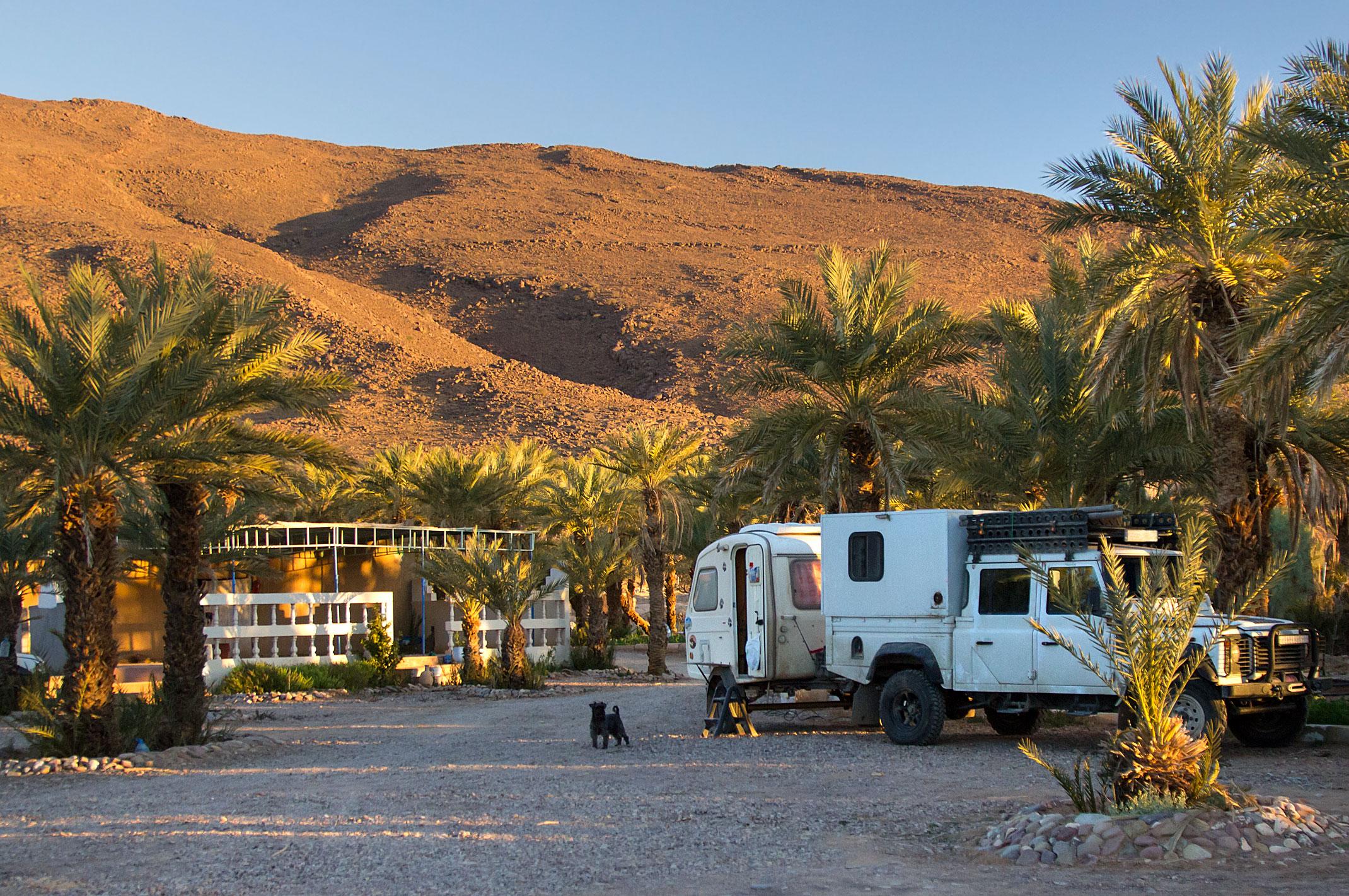 Maroko.Kemping