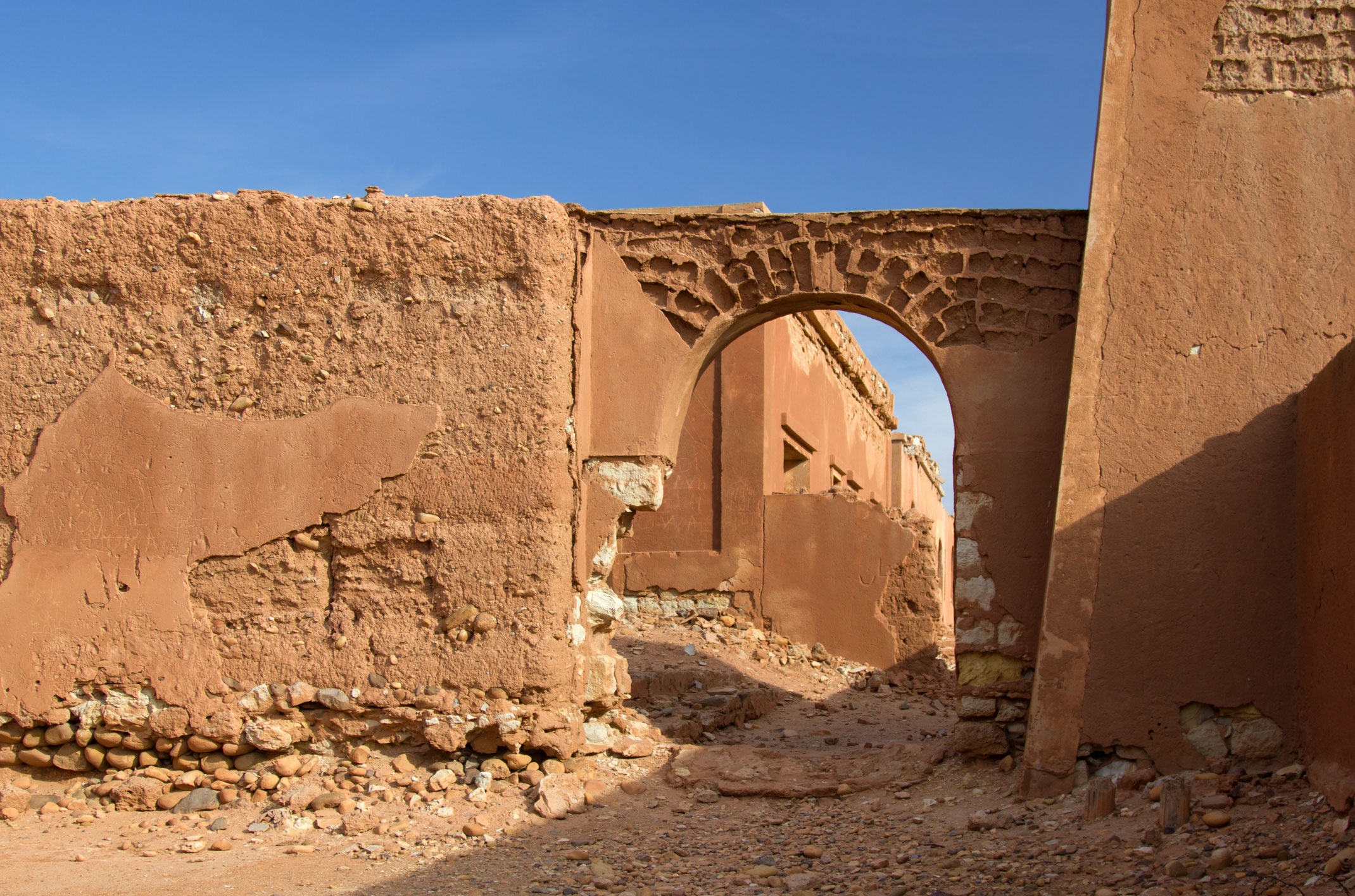 Maroko.Fort Tafnidilt
