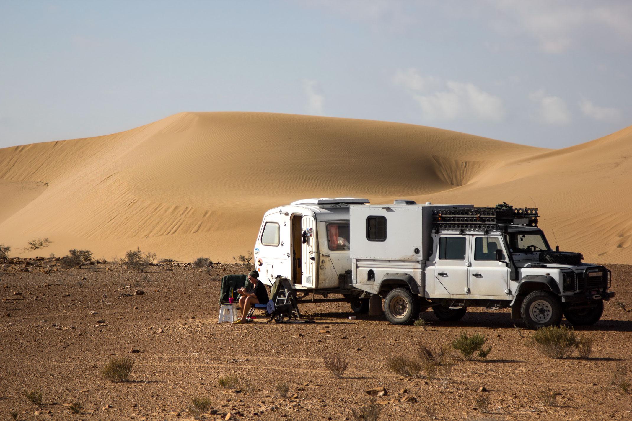 Obóz na Saharze