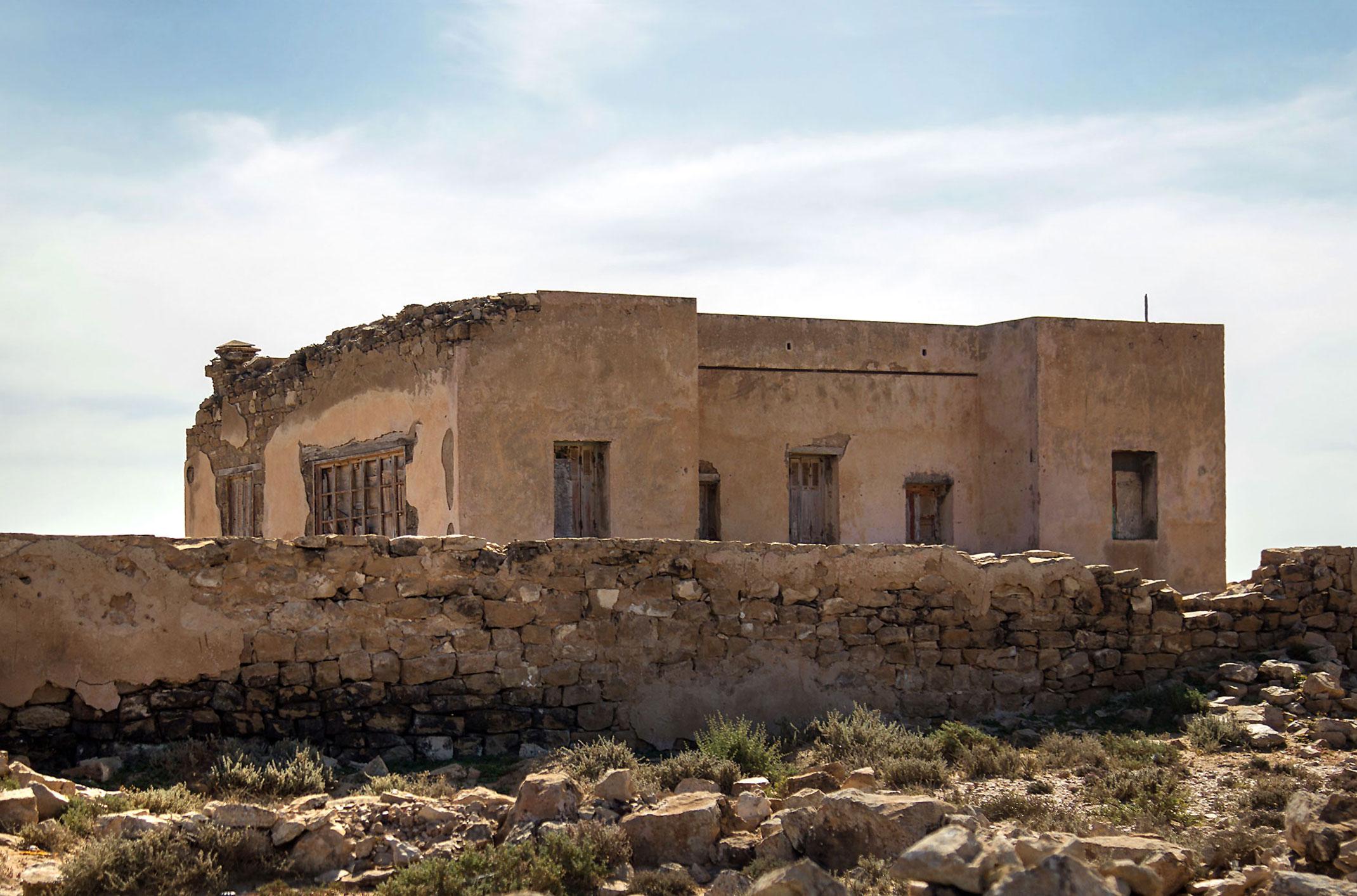 Ruiny fortu Aoreora.Maroko