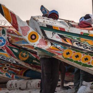 Port rybacki w Nawakszut 1 - Blog podróżniczy - PIES PUSTYNI