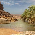 Nocleg nad rzeką-Mauretania