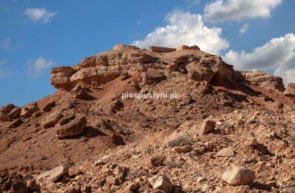 Fort nad ouedem Azinous 2 - Blog podróżniczy - PIES PUSTYNI
