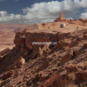 Fort nad ouedem Azinous - Blog podróżniczy - PIES PUSTYNI