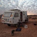 Nocleg przy posterunku-Mauretania