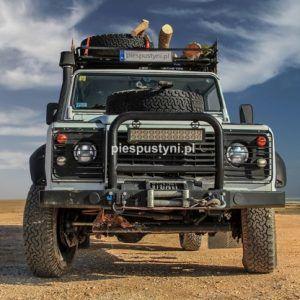 Land Rover Defender 130 – Postój nad wodą - Blog podróżniczy - PIES PUSTYNI
